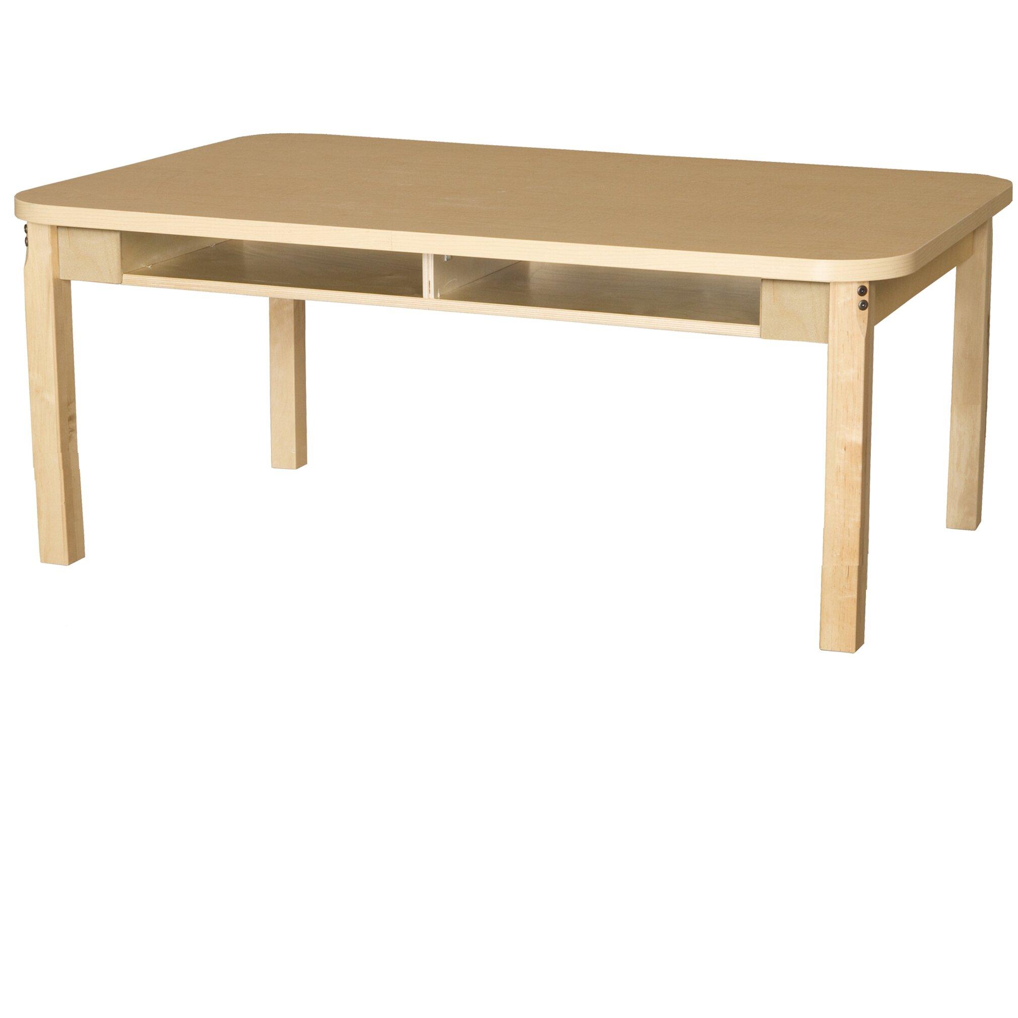 Mdf laminate adjustable height standard desk wayfair - Standard desk chair height ...