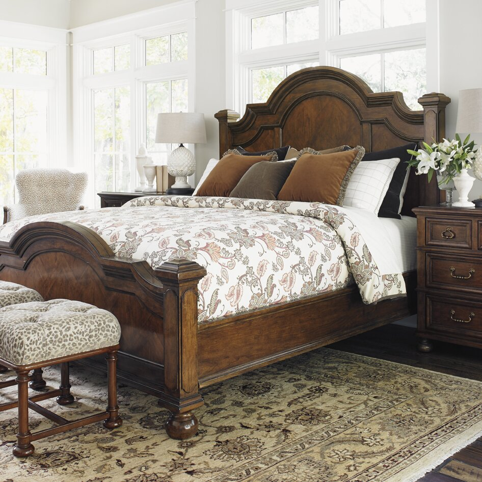 coventry hills panel customizable bedroom set wayfair