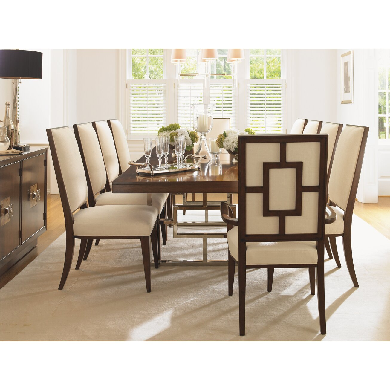 Lexington Dining Room Furniture: Mirage Monroe Extendable Dining Table