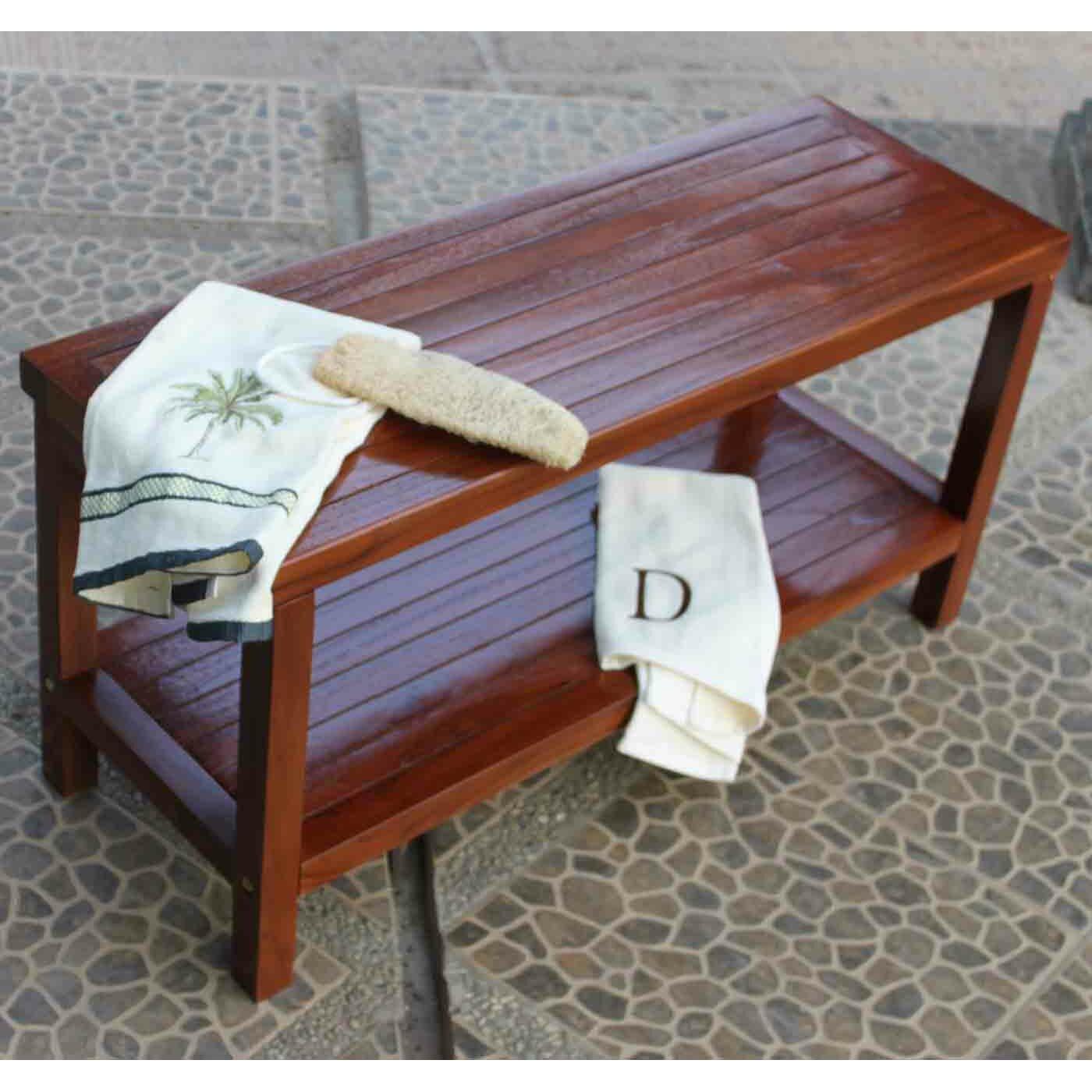 Decoteak Classic Teak Outdoor End Table & Reviews | Wayfair