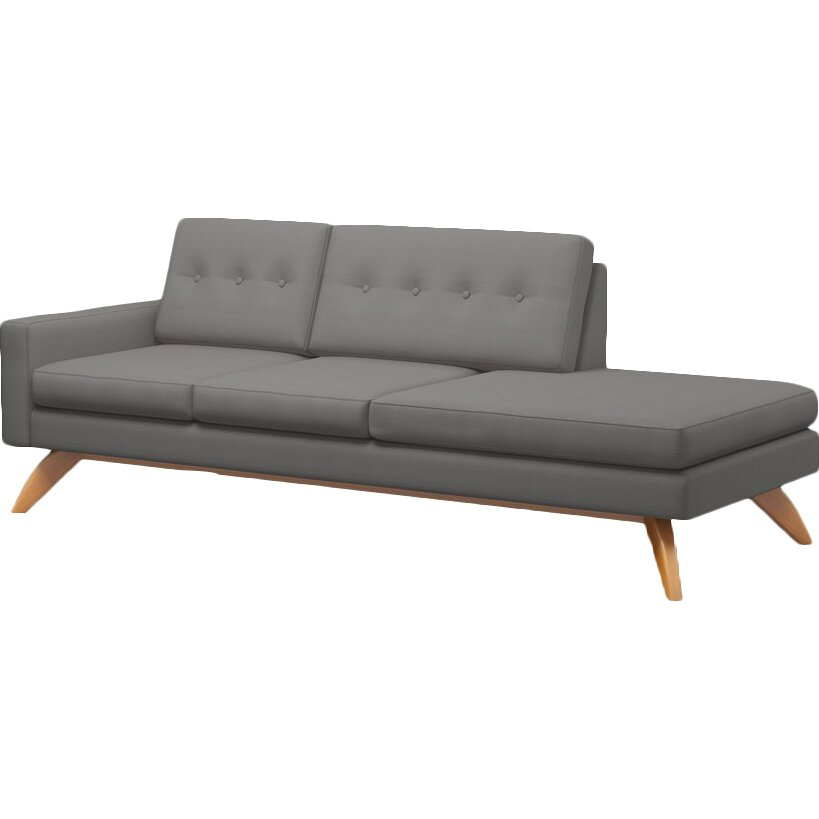 Truemodern Luna 94 One Arm Sofa Reviews Wayfair