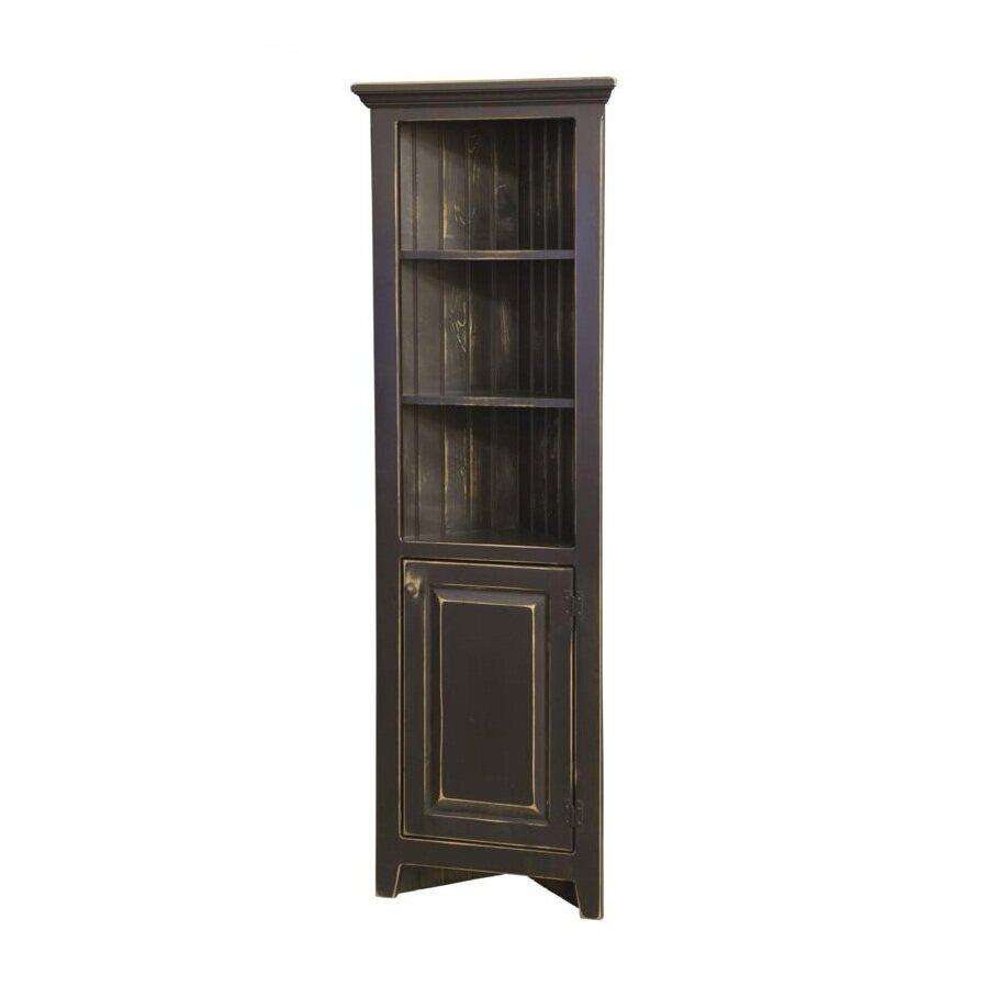 Chelsea home luke corner cabinet reviews wayfair for Wayfair kitchen cabinets