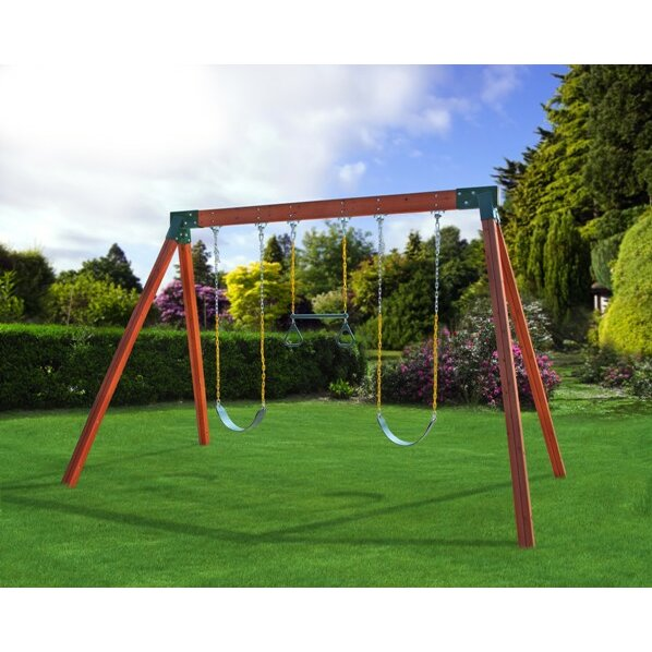 eastern jungle gym classic swing set 2
