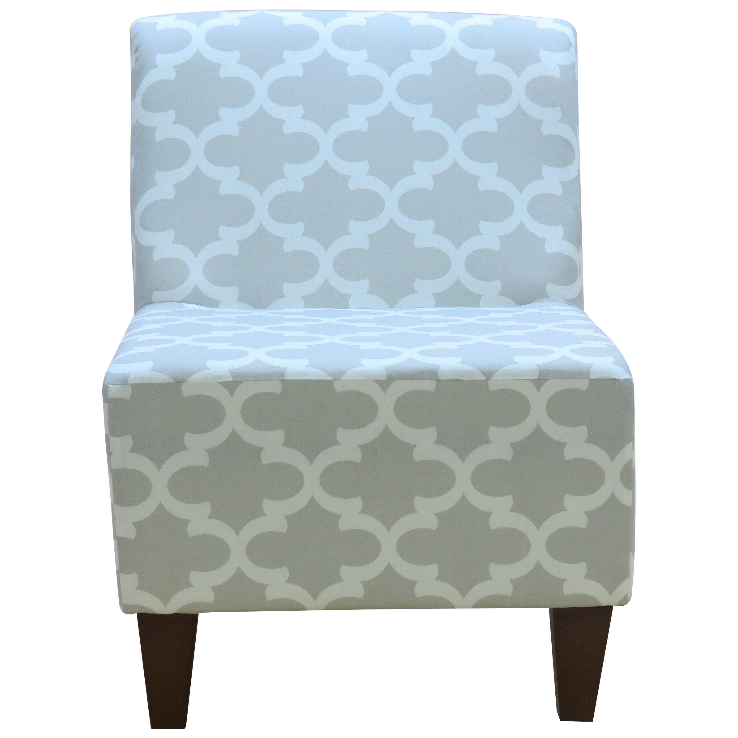 Fox Hill Trading Penelope Armless Fynn Slipper Chair
