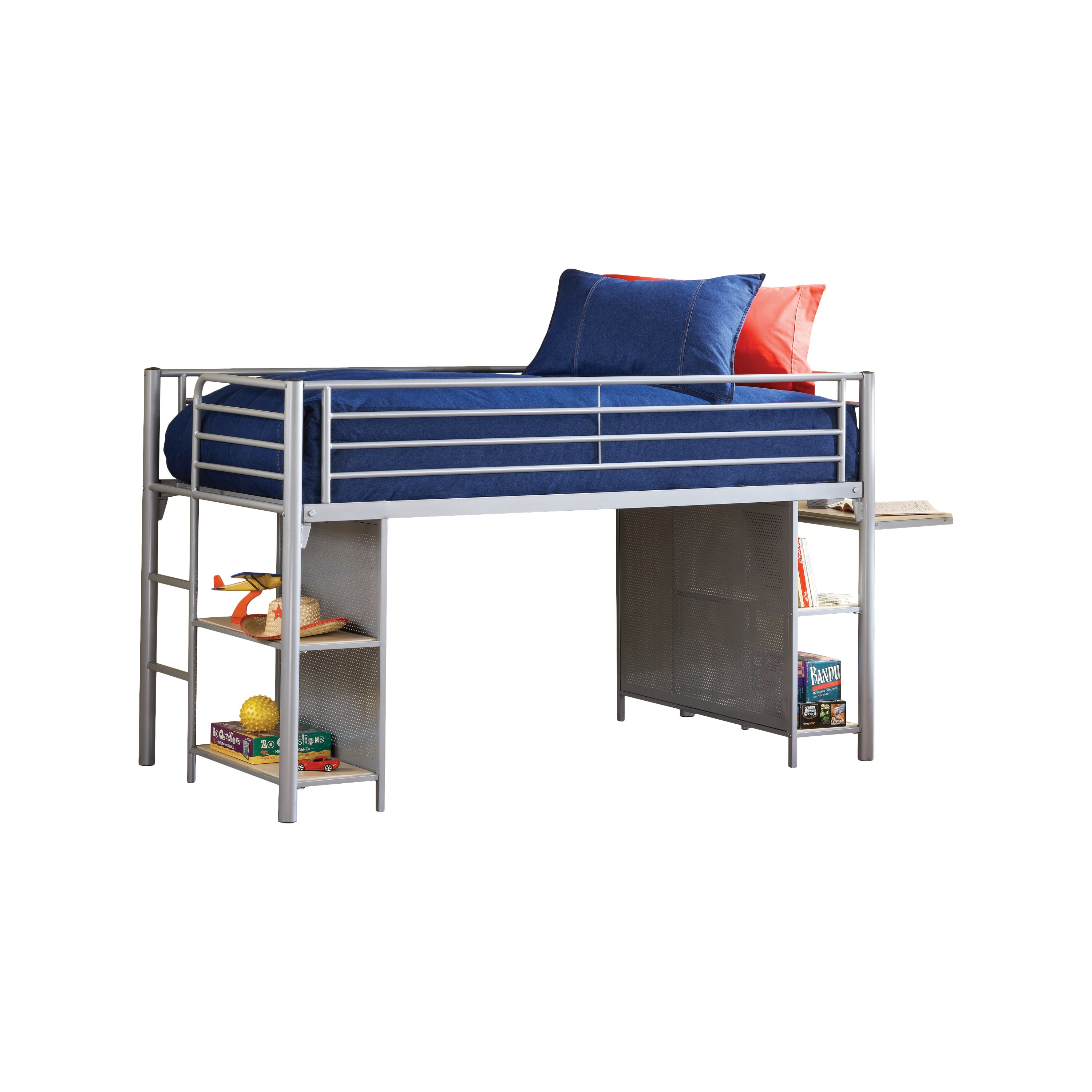 Universal Youth Twin Low Loft Bed
