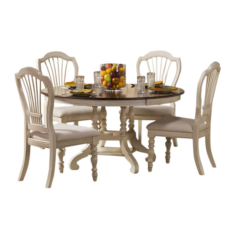 Hillsdale Pine Island 5 Piece Dining Set Reviews Wayfair