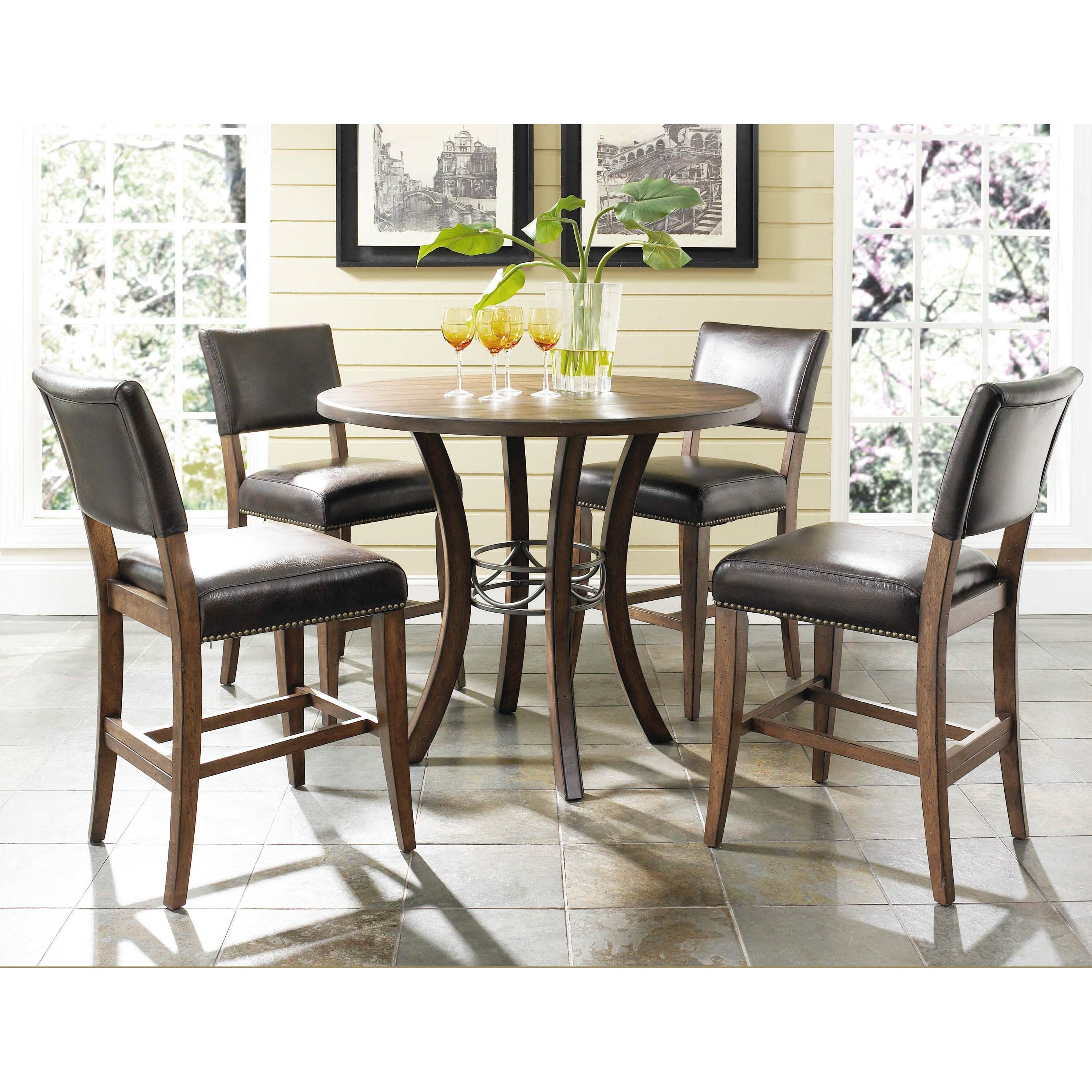 Hillsdale Cameron 5 Piece Counter Height Dining Set
