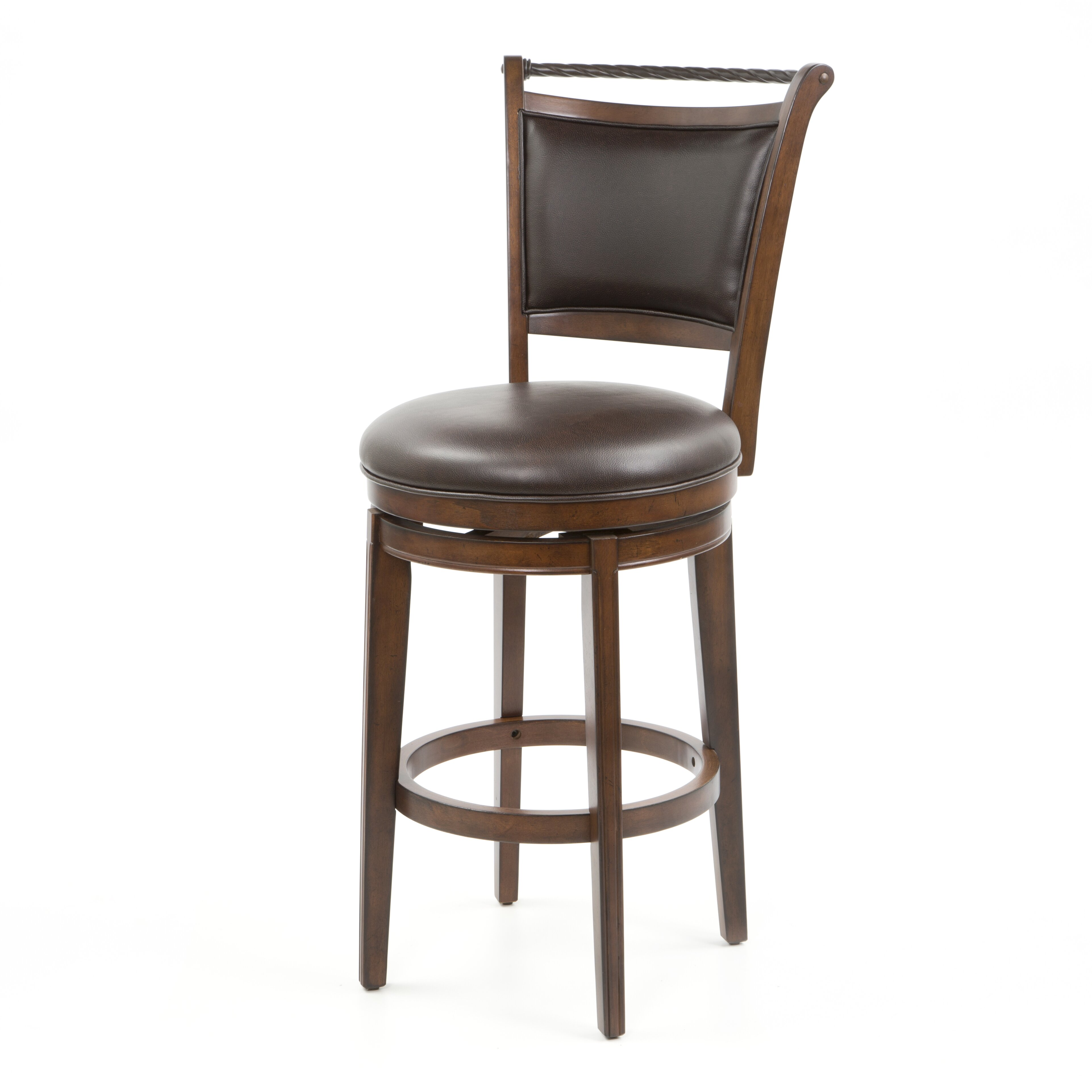 Red barrel studio epping calais 30 swivel bar stool with for Outdoor furniture epping