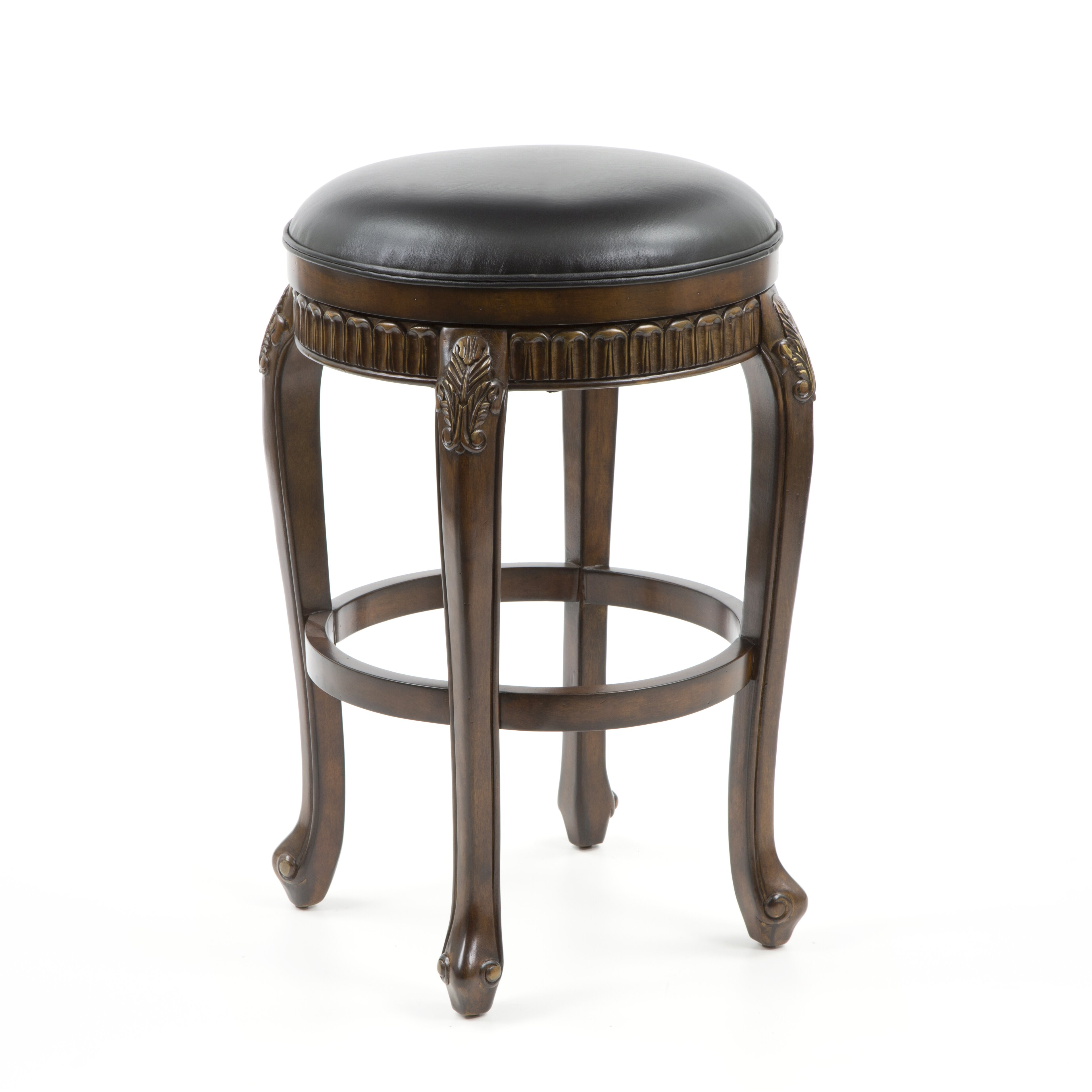 Hillsdale Fleur De Lis 30 Quot Swivel Bar Stool With Cushion