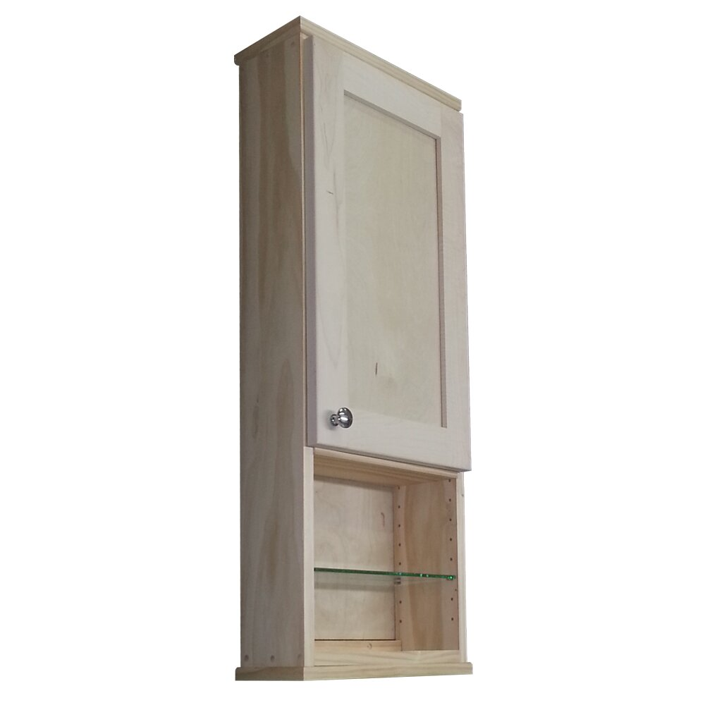 Wg Wood Products Shaker Series X 31 5 Wall Mounted Cabinet Reviews Wayfair