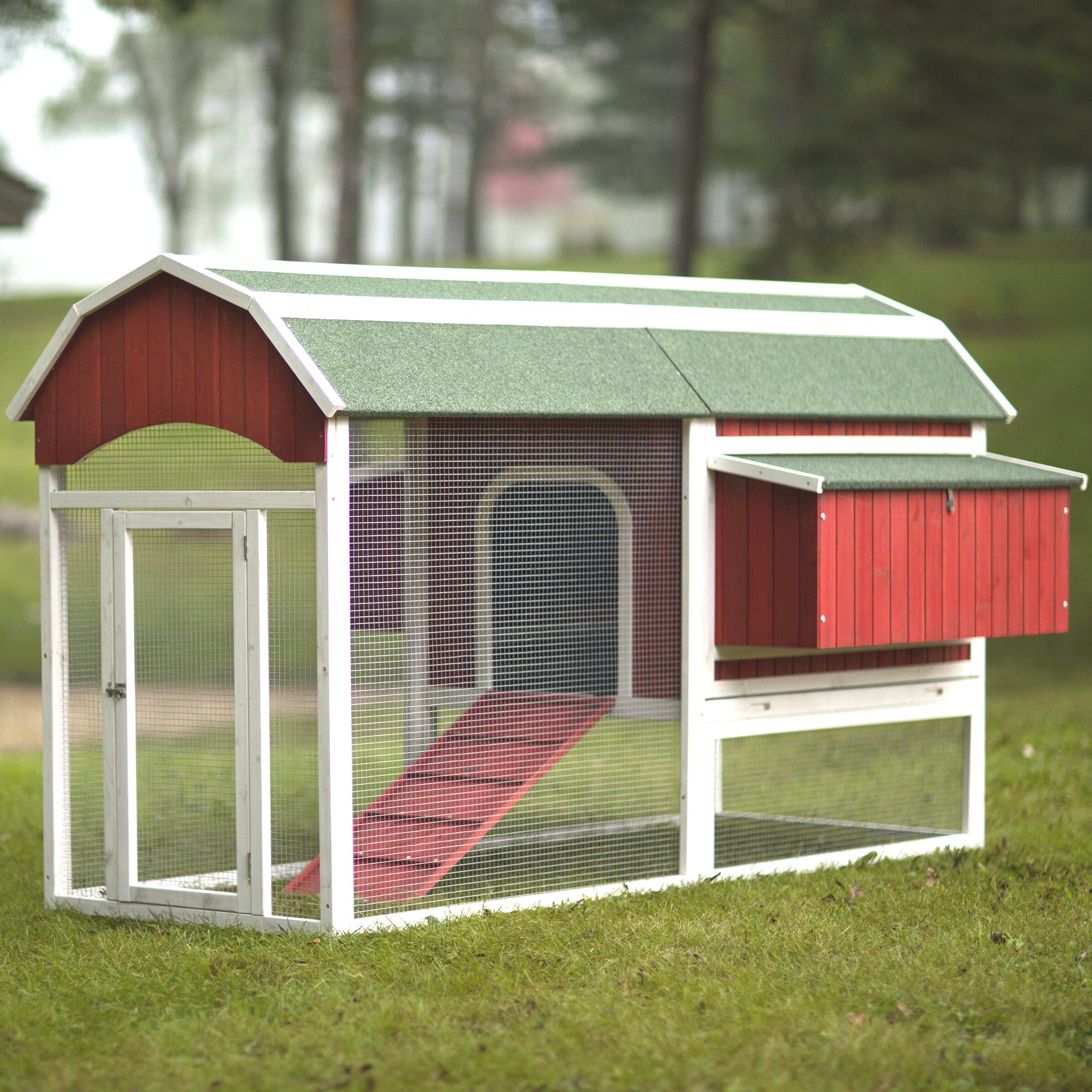 Prevue Hendryx Red Barn Large Chicken Coop & Reviews