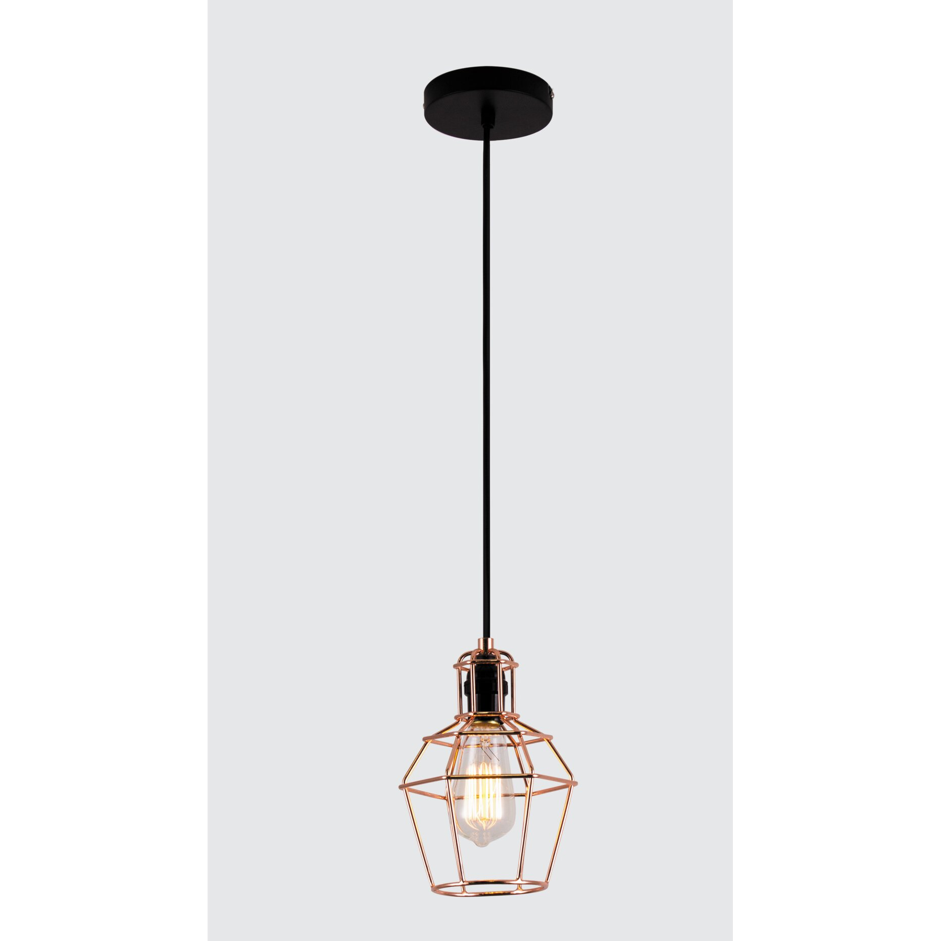 Bazz Vesta 1 Light Kitchen Island Pendant & Reviews