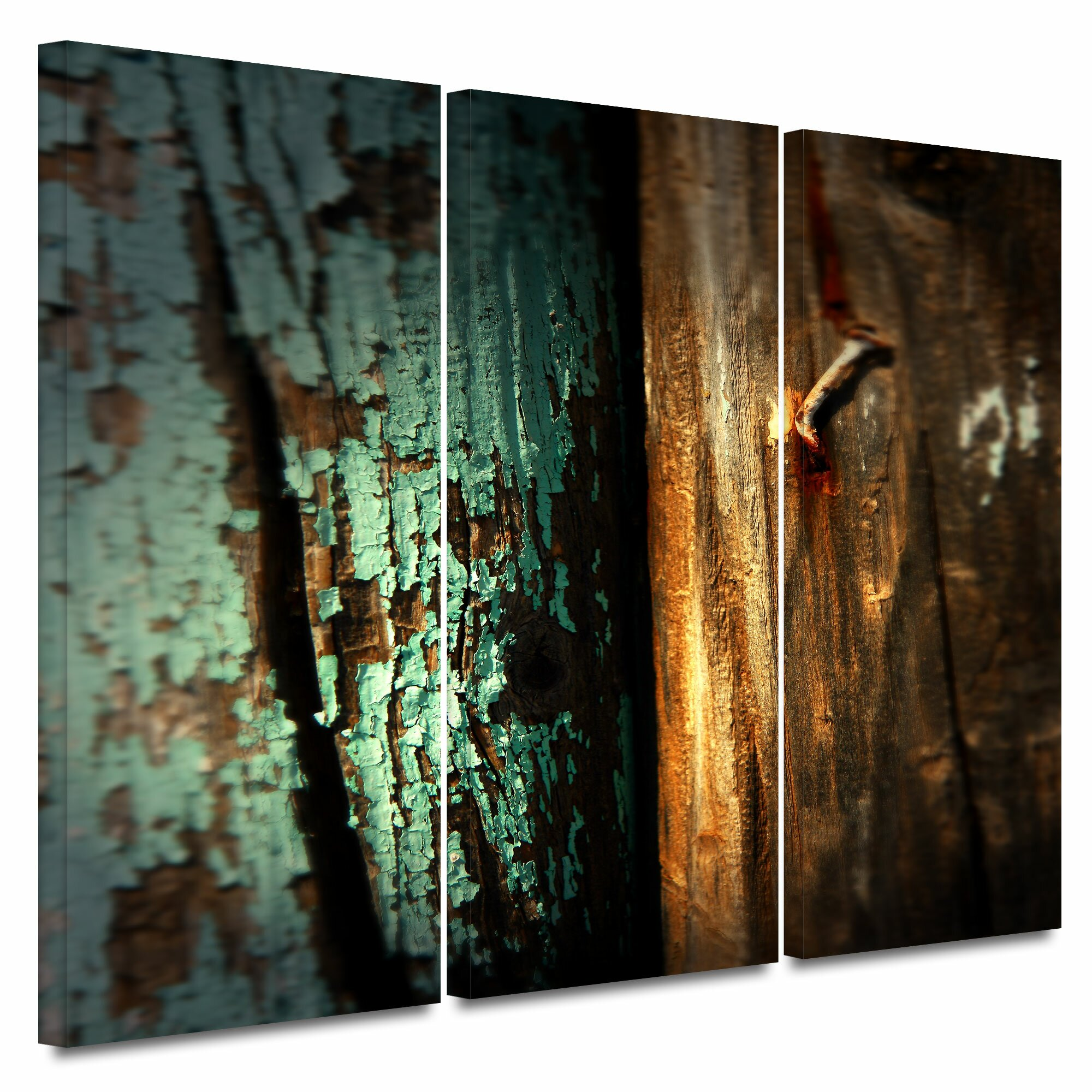 Wall Decor Ross : Artwall quot wood nail by mark ross piece photographic