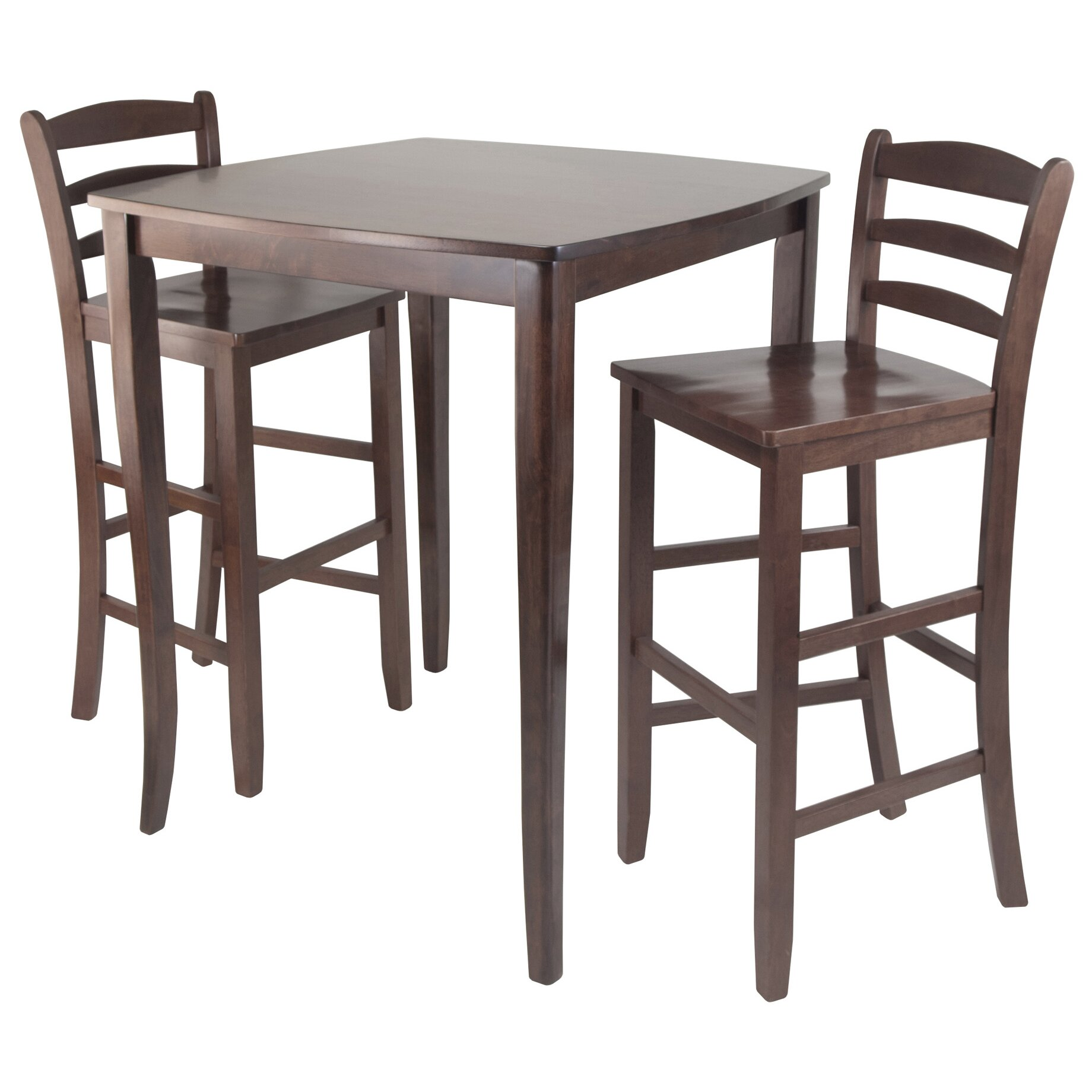 ... Inglewood 3 Piece Counter Height Pub Table Set & Reviews Wayfair