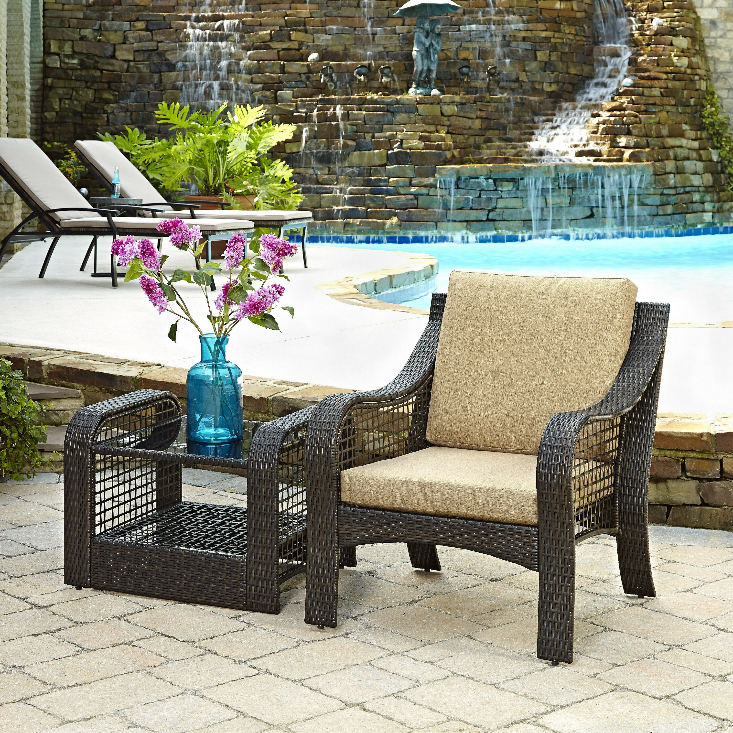 Ocean Breeze Patio Furniture Lanai Breeze Side Table