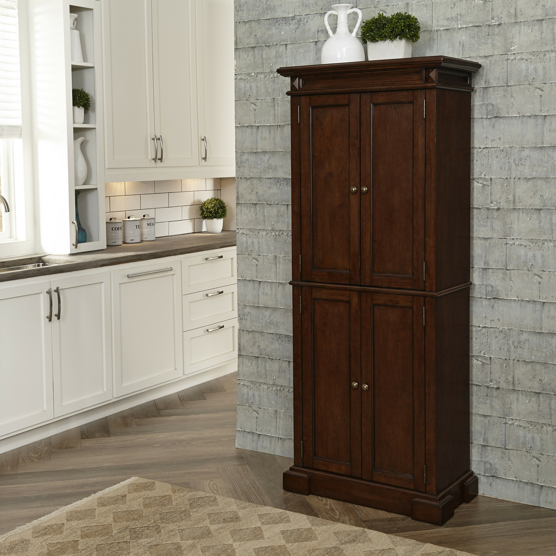Home Styles Americana 72 Kitchen Pantry Reviews Wayfair
