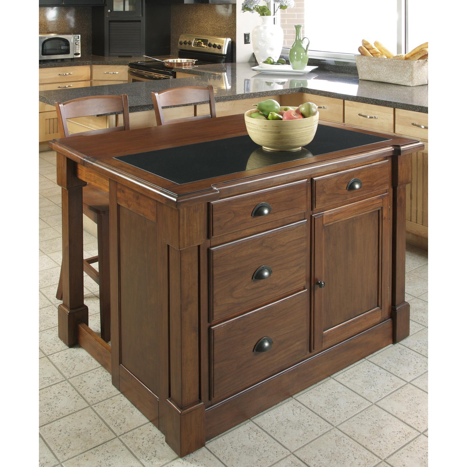Home Styles Kitchen Island: Home Styles Aspen Kitchen Island & Reviews