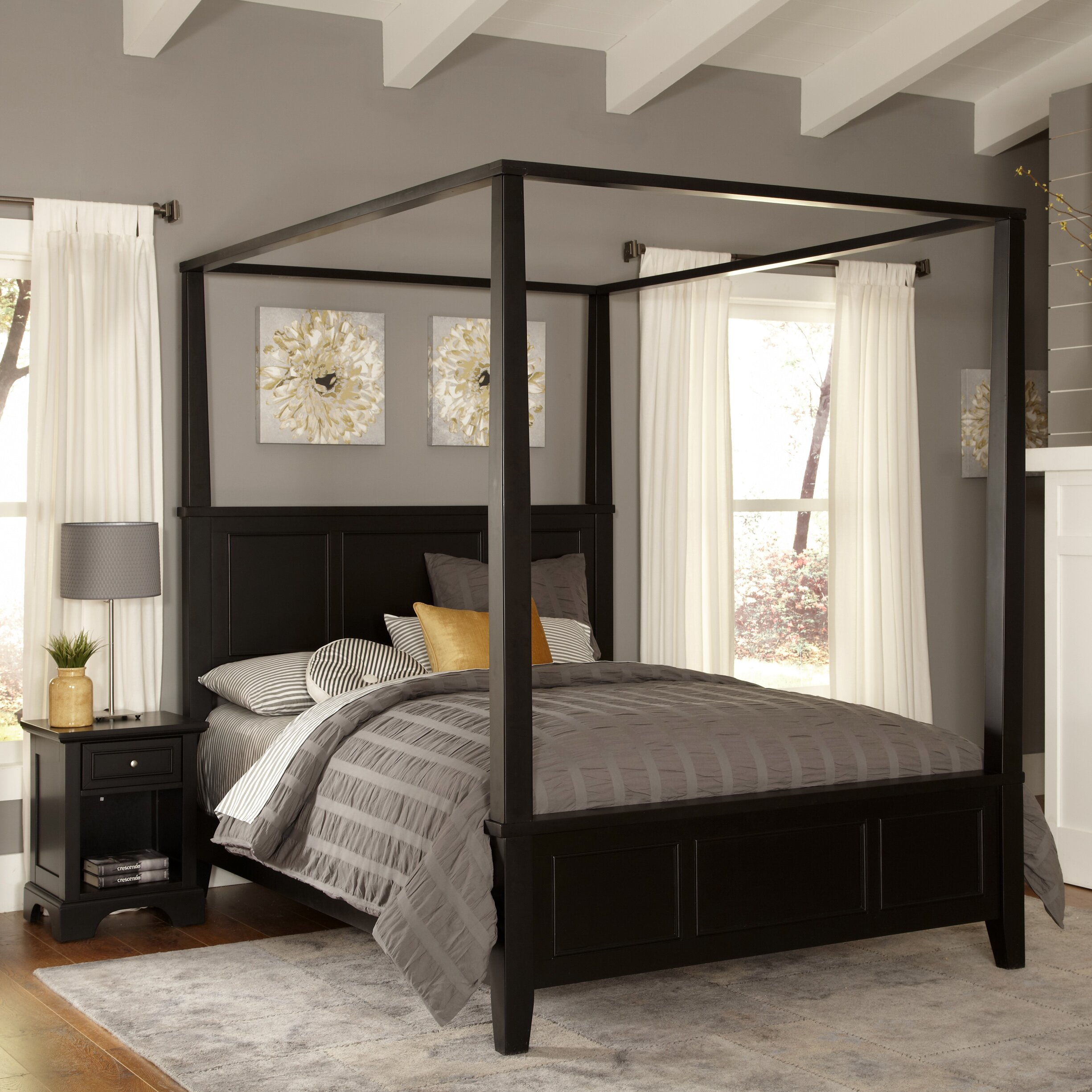 Home Styles Bedford Panel 2 Piece Bedroom Set & Reviews ...