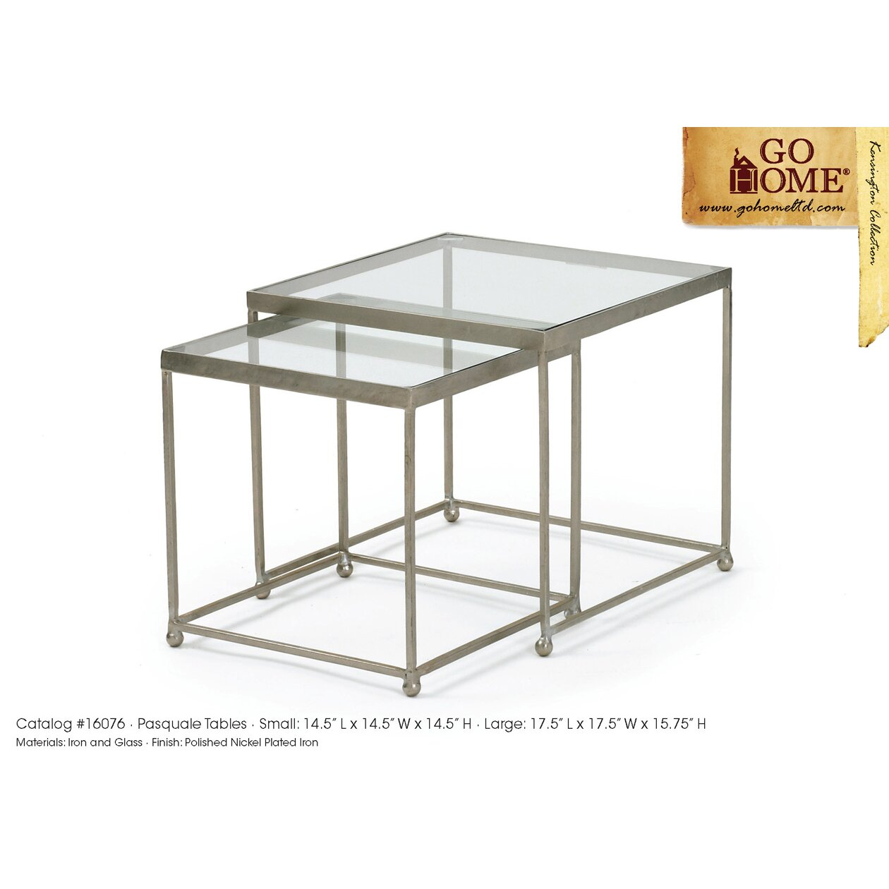 2 Piece Pasquale Coffee Table Set