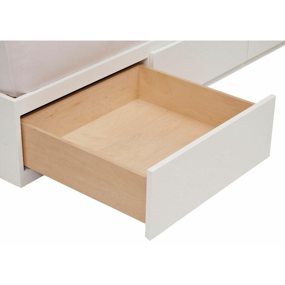 Urban Basics  Drawer Storage Platform Bed