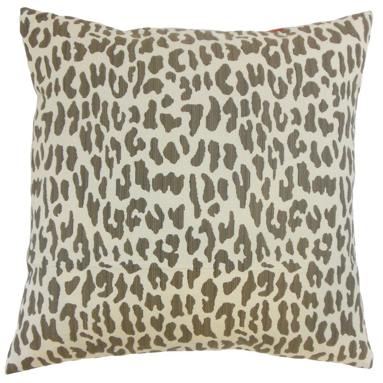 Animal Print Throw Pillow Covers : Ilandere Animal Print Throw Pillow Cover Wayfair
