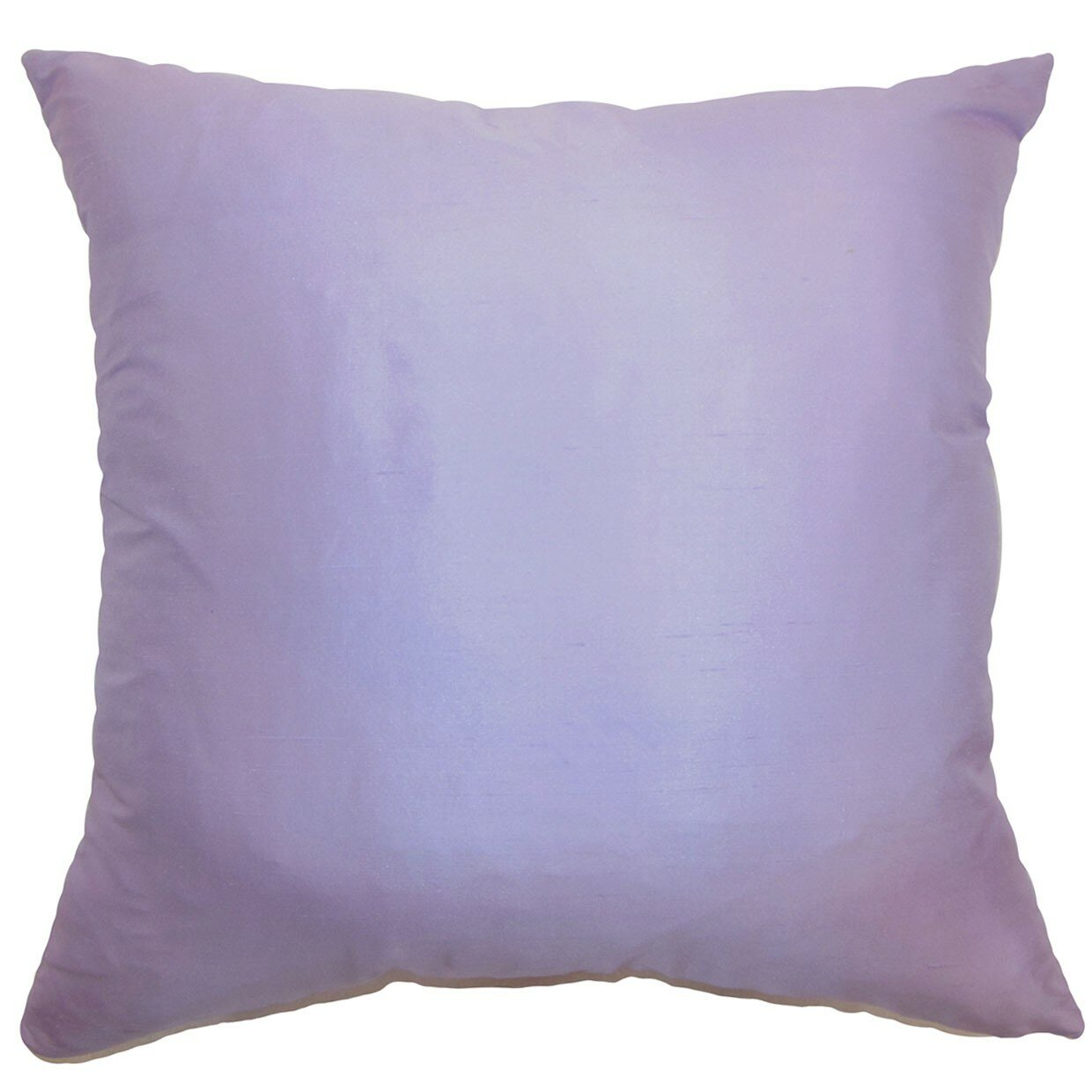 Throw Pillows Pictures : The Pillow Collection Desdemona Plain Silk Throw Pillow & Reviews Wayfair