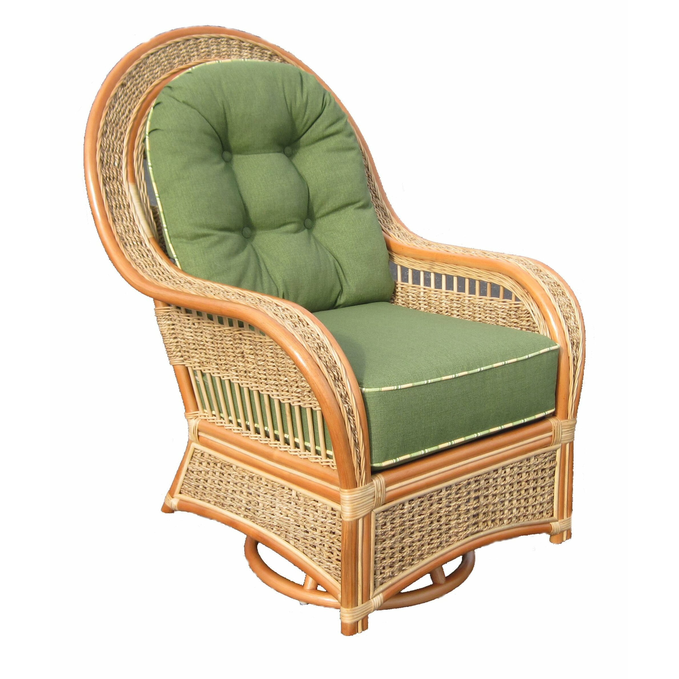 Spice Islands Swivel Rocking Chair & Reviews