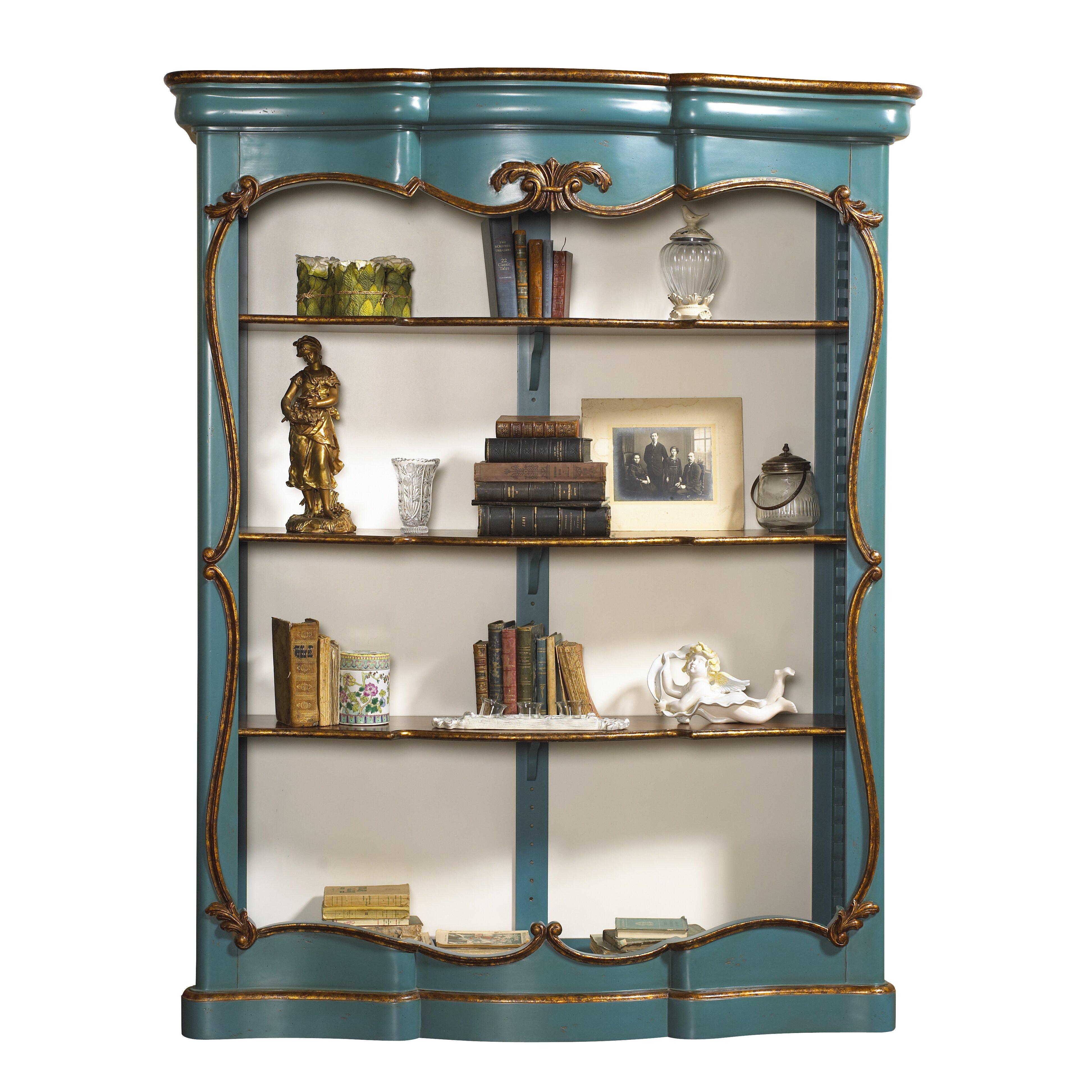 Шкаф книжный открытый цвета бирюзы chenonceau, french herita.