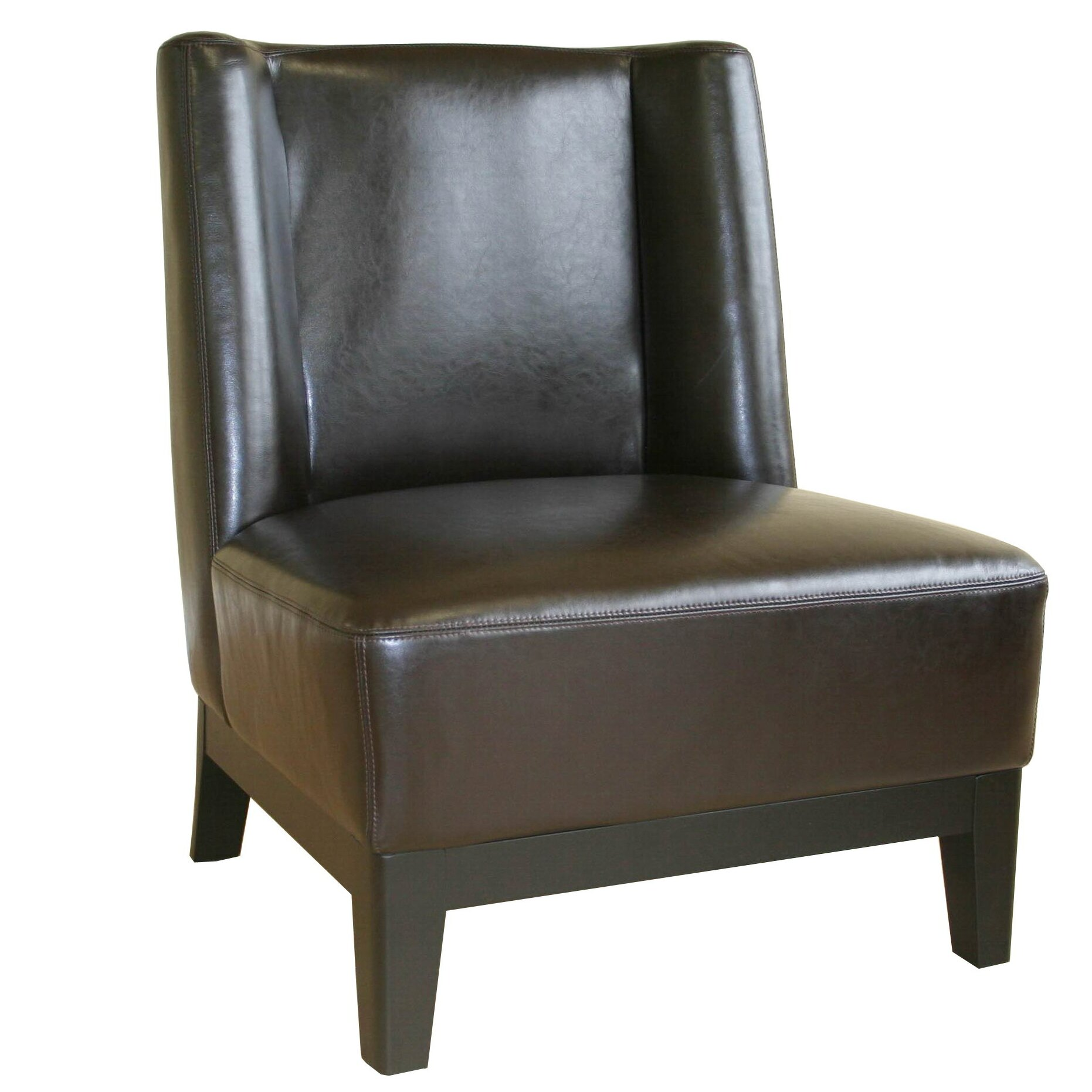 Wholesale Interiors Cloten Leather Chair & Reviews
