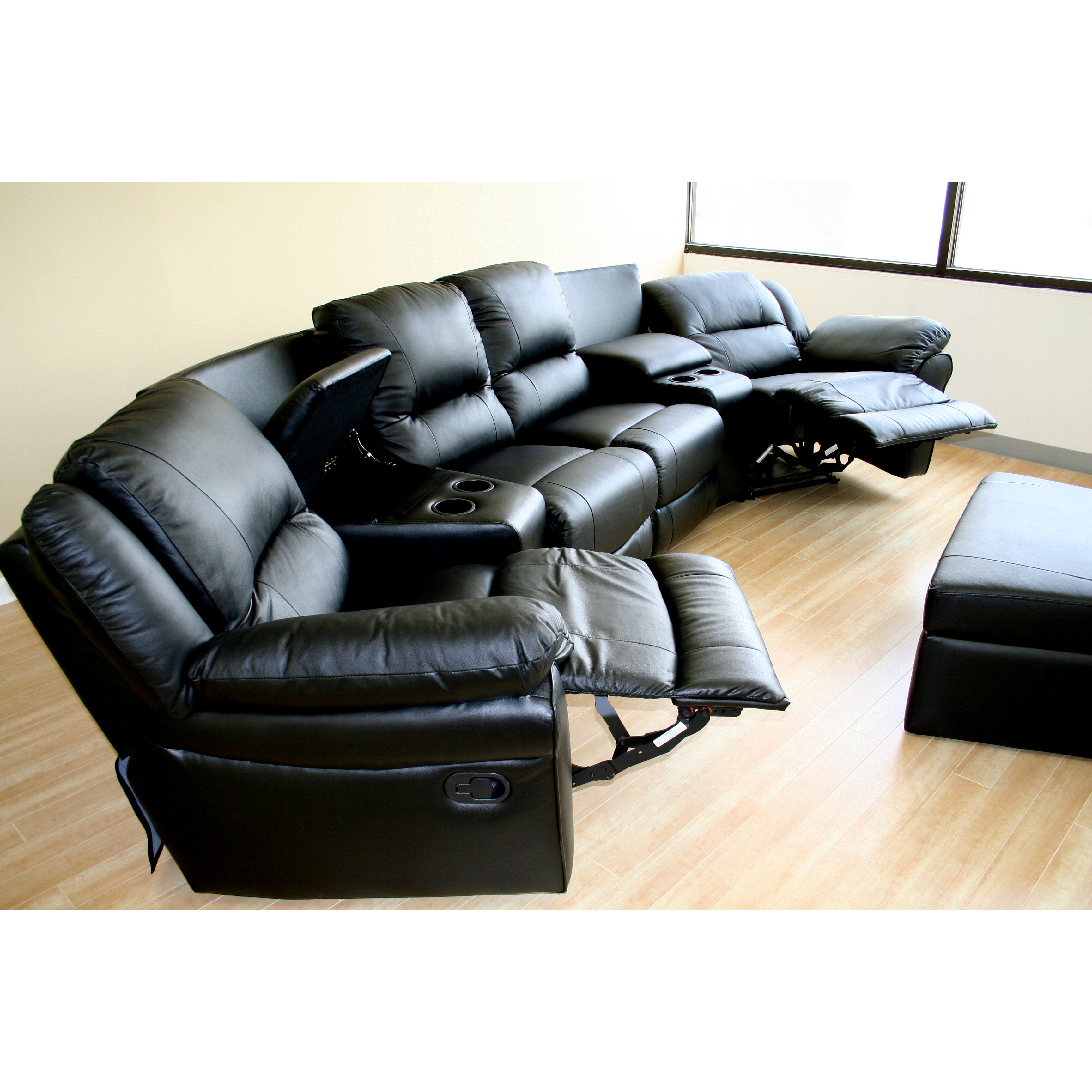 Wholesale Interiors Viola 7-Piece Home Theater Seating