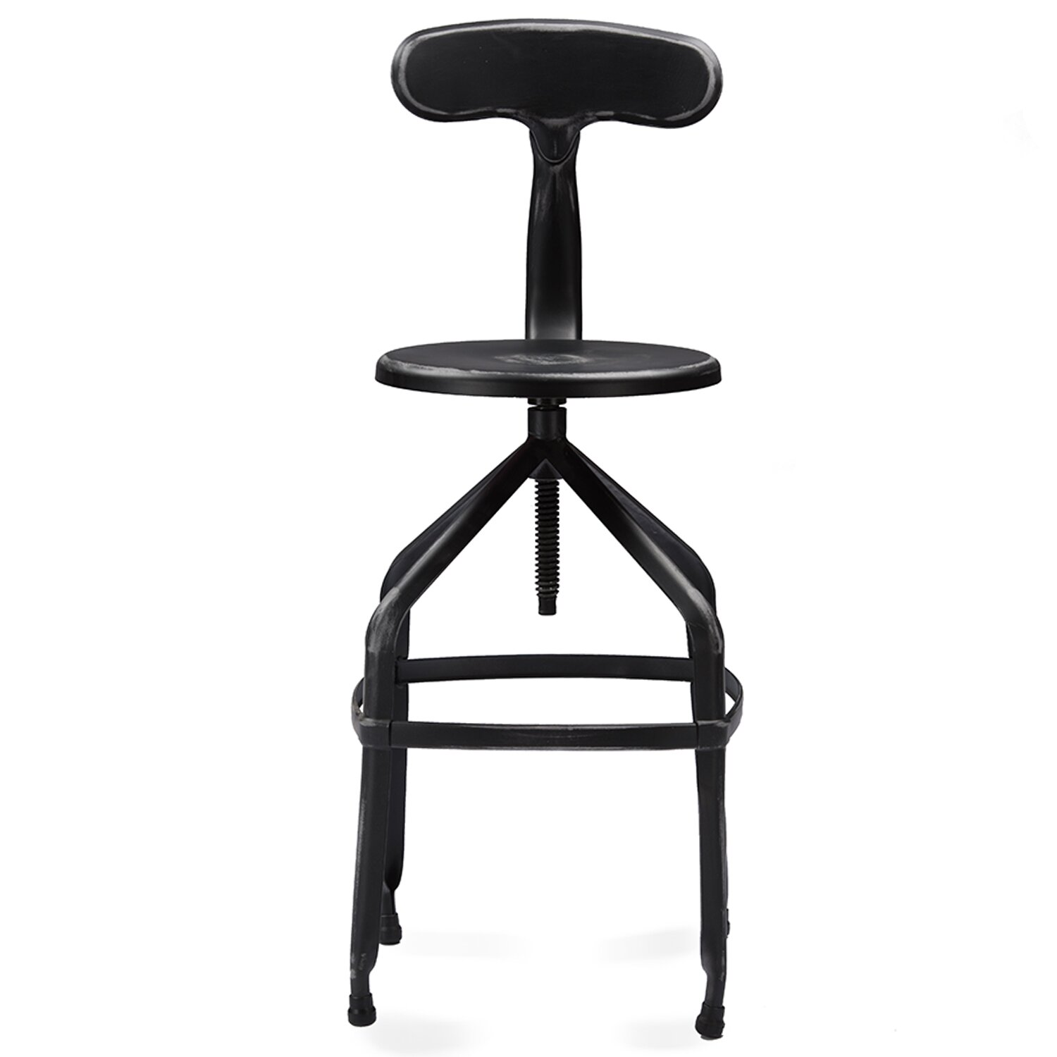 Wholesale Interiors Baxton Studio 24 5 Quot Swivel Bar Stool