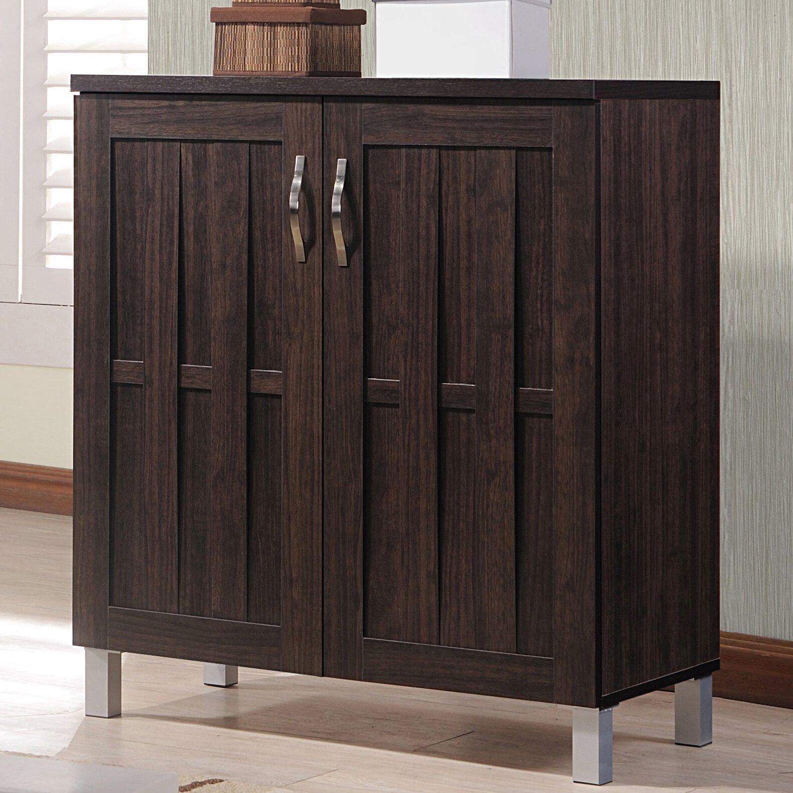 Wholesale Interiors Baxton Studio Excel Accent Cabinet& Reviews Wayfair