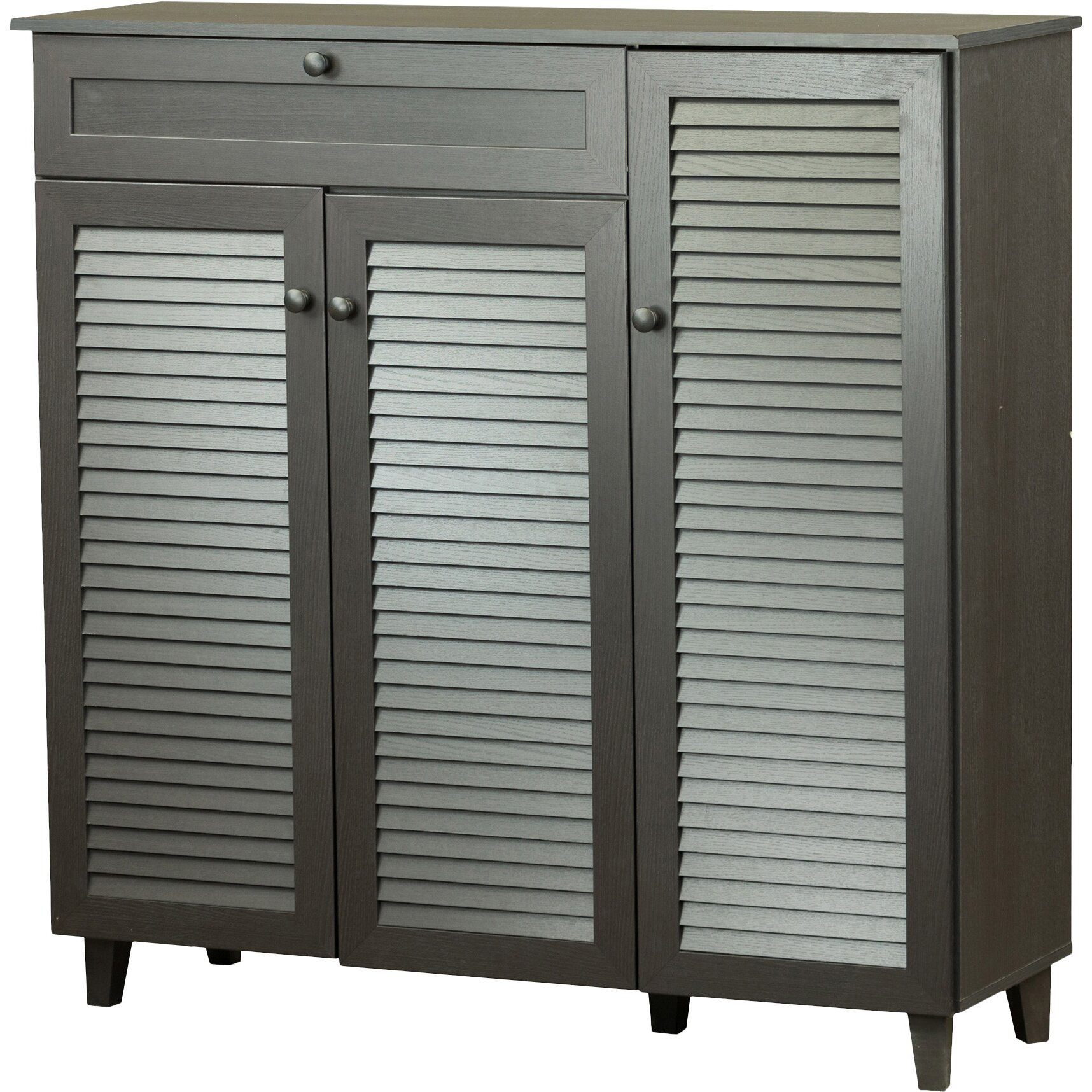 wholesale interiors pocillo shoe storage cabinet reviews wayfair