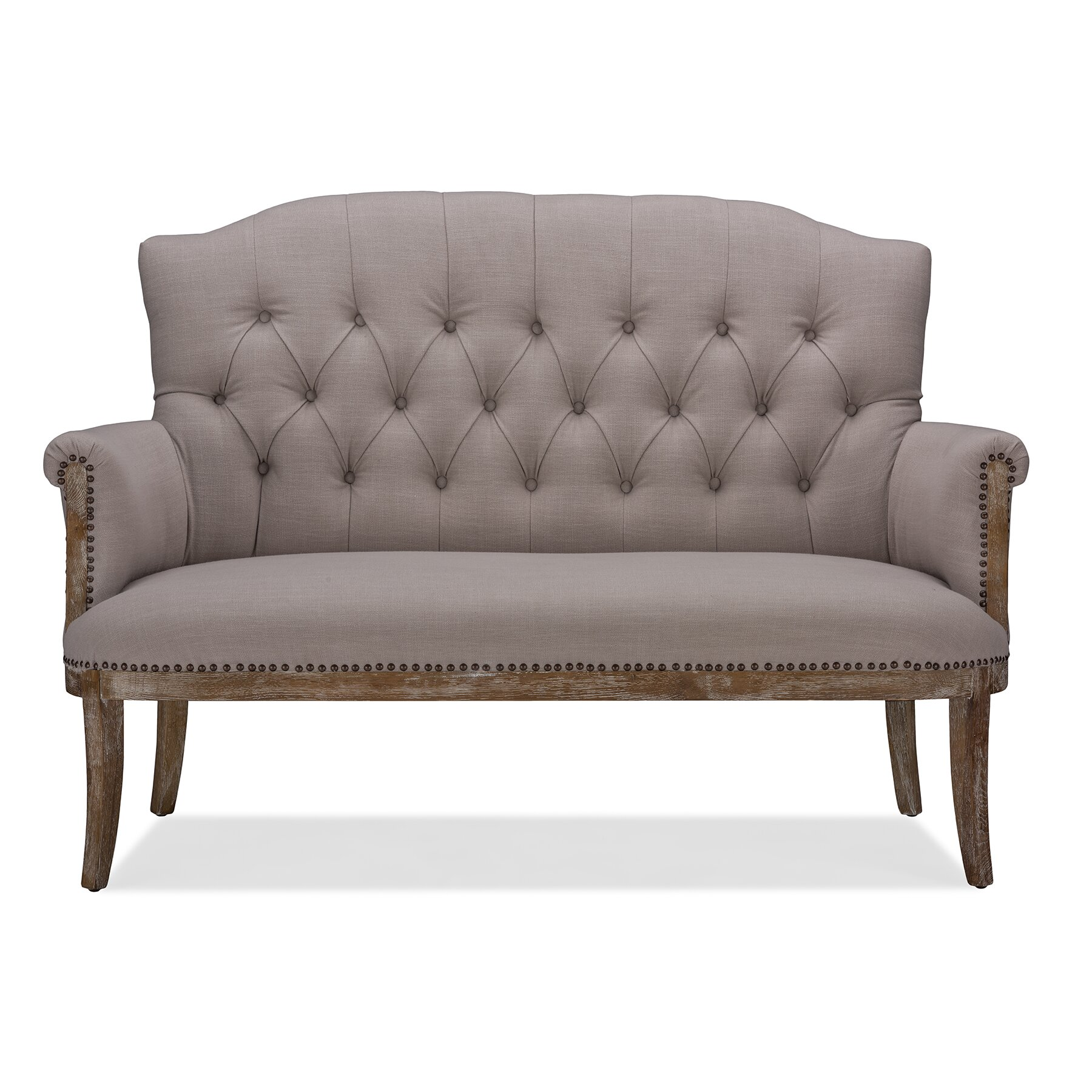Wholesale interiors bria tufted bench reviews wayfair Retro loveseats