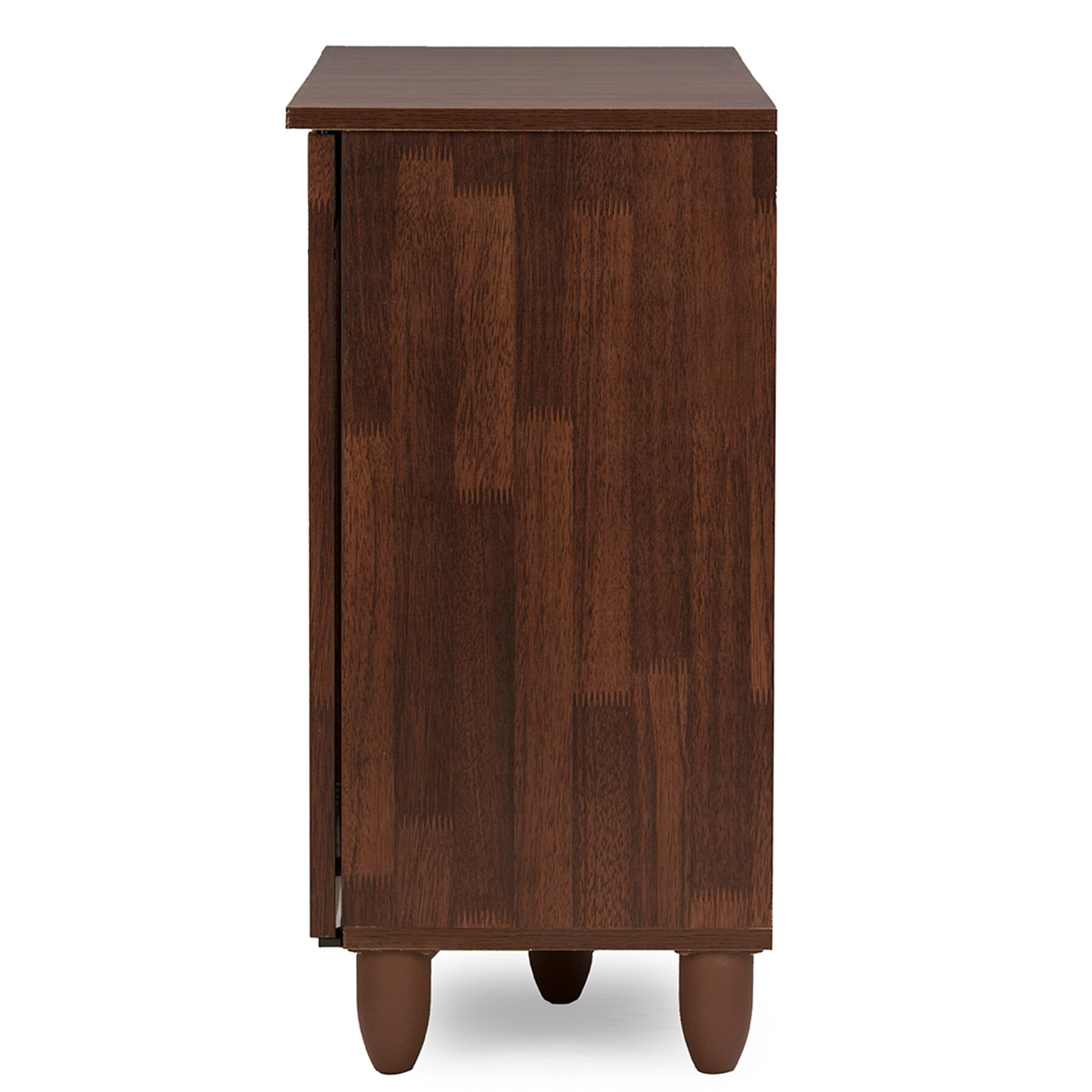 Wholesale interiors baxton studio fernanda 3 door entryway Entryway storage cabinet