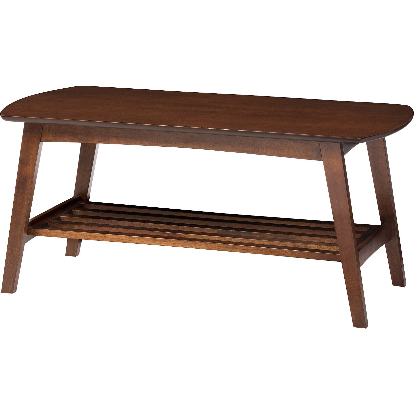 Http Www Wayfair Com Sacramento Mid Century Modern Scandinavian Style Dark Walnut Coffee Table Rt295a Occ Whi7058 Html