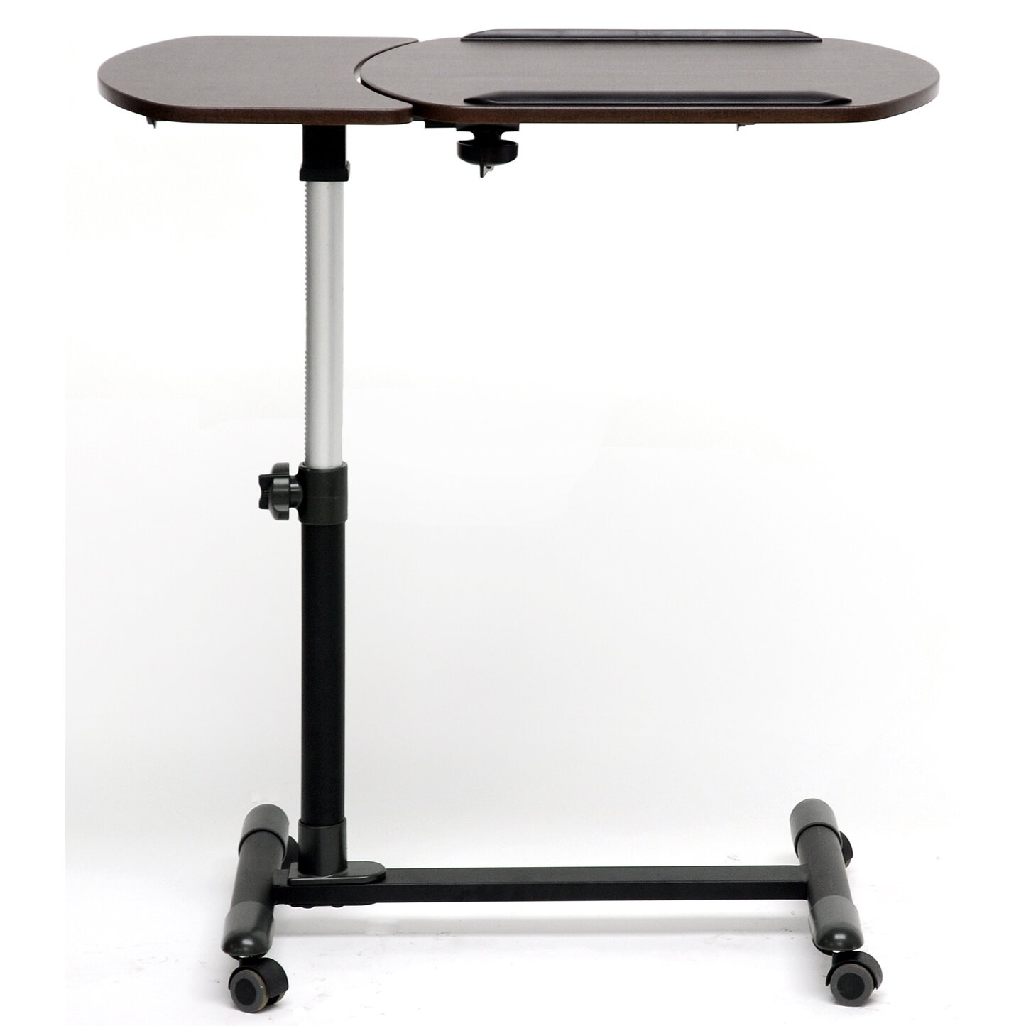 Baxton Studio Olsen Wheeled Laptop Tray Table by Wholesale Interiors