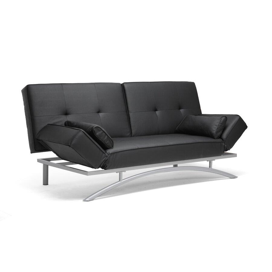 Designer Futons: Wholesale Interiors Baxton Studio Sawyer Modern Futon