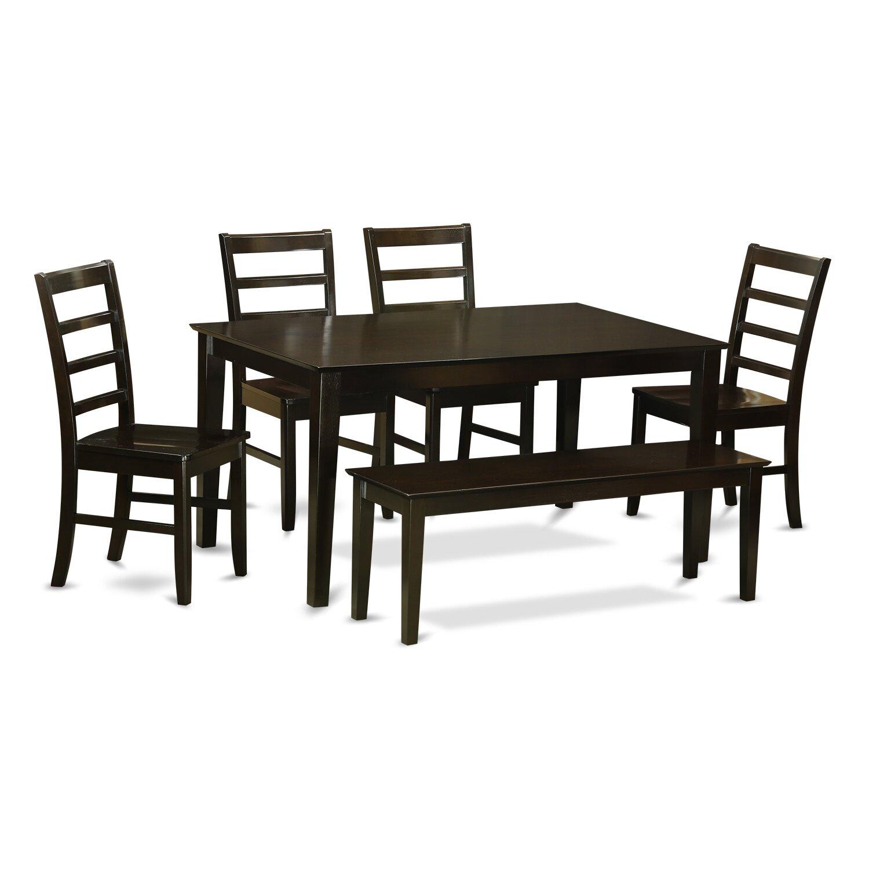 Capri 6 Piece Dining Set