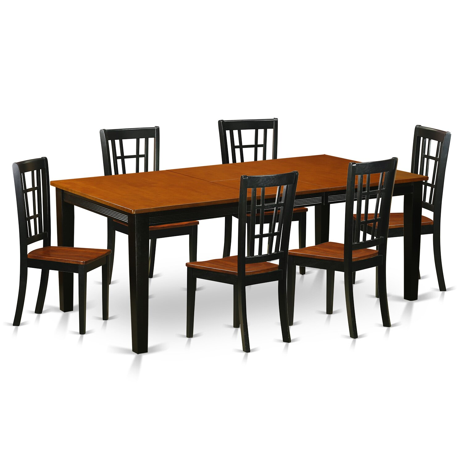 Solid Wood Dining Room Table Pc Calgary Round Walnut Dining Table Set At Gowfbca True