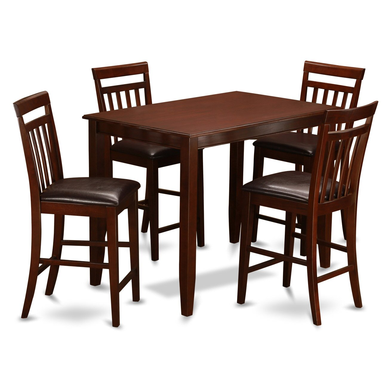 buckland 5 piece counter height dining set wayfair