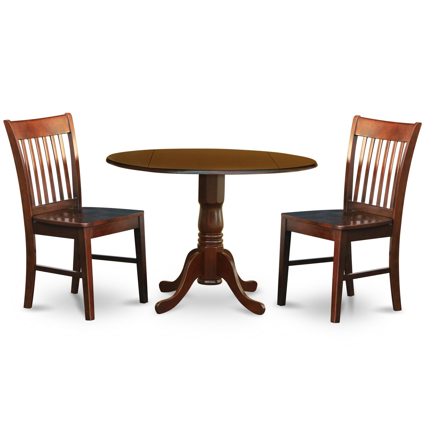 small kitchen table set round kitchen table and 2 wood seat chairs