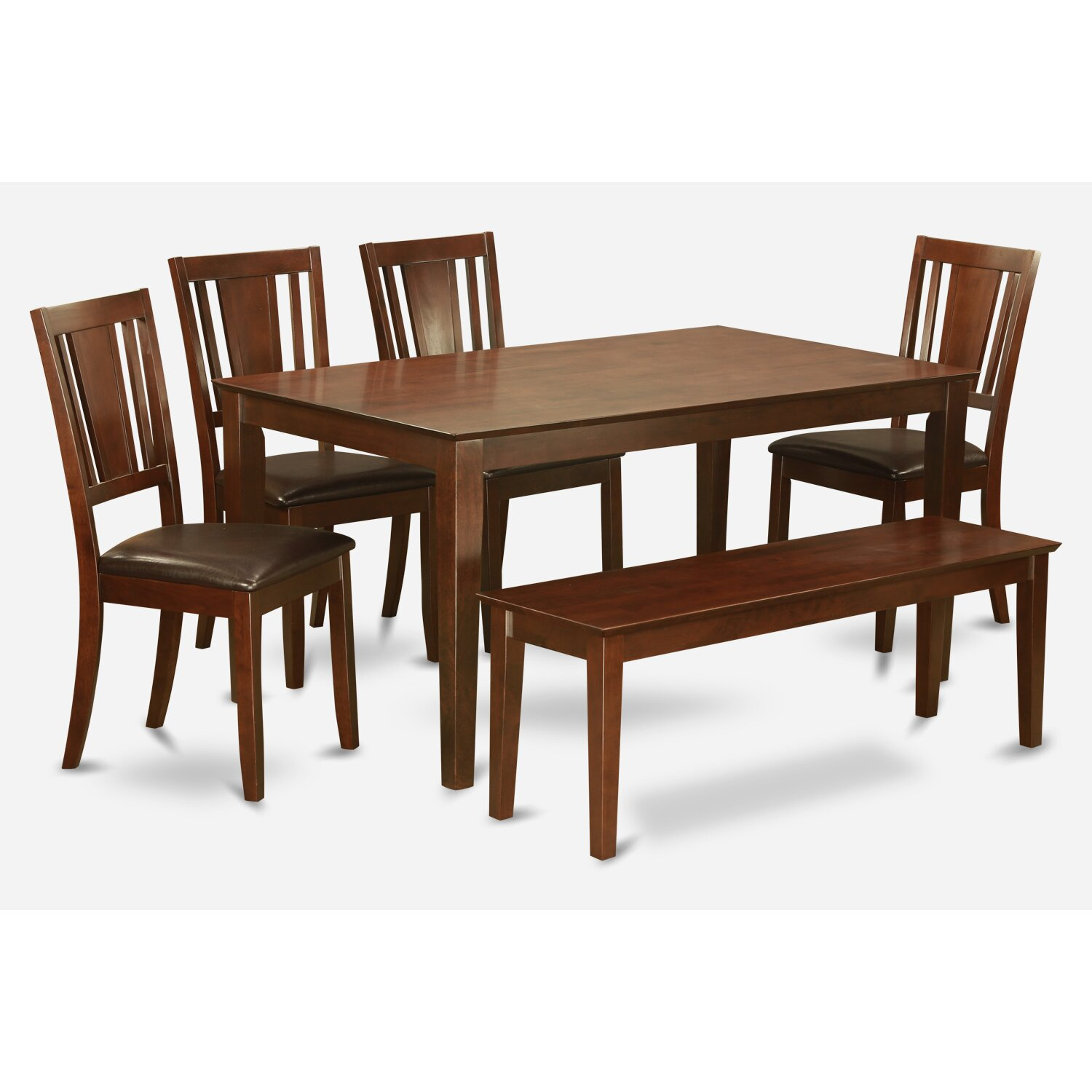 Kitchen Table And 6 Chairs: Capri 6 Piece Dining Set