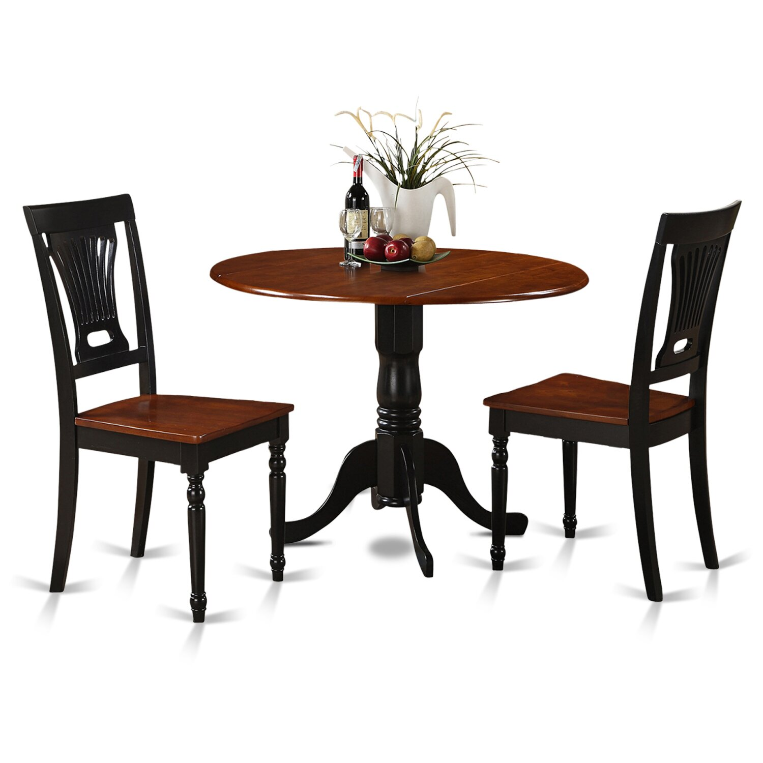 Wooden Importers Dublin 3 Piece Dining Set u0026 Reviews : Wayfair