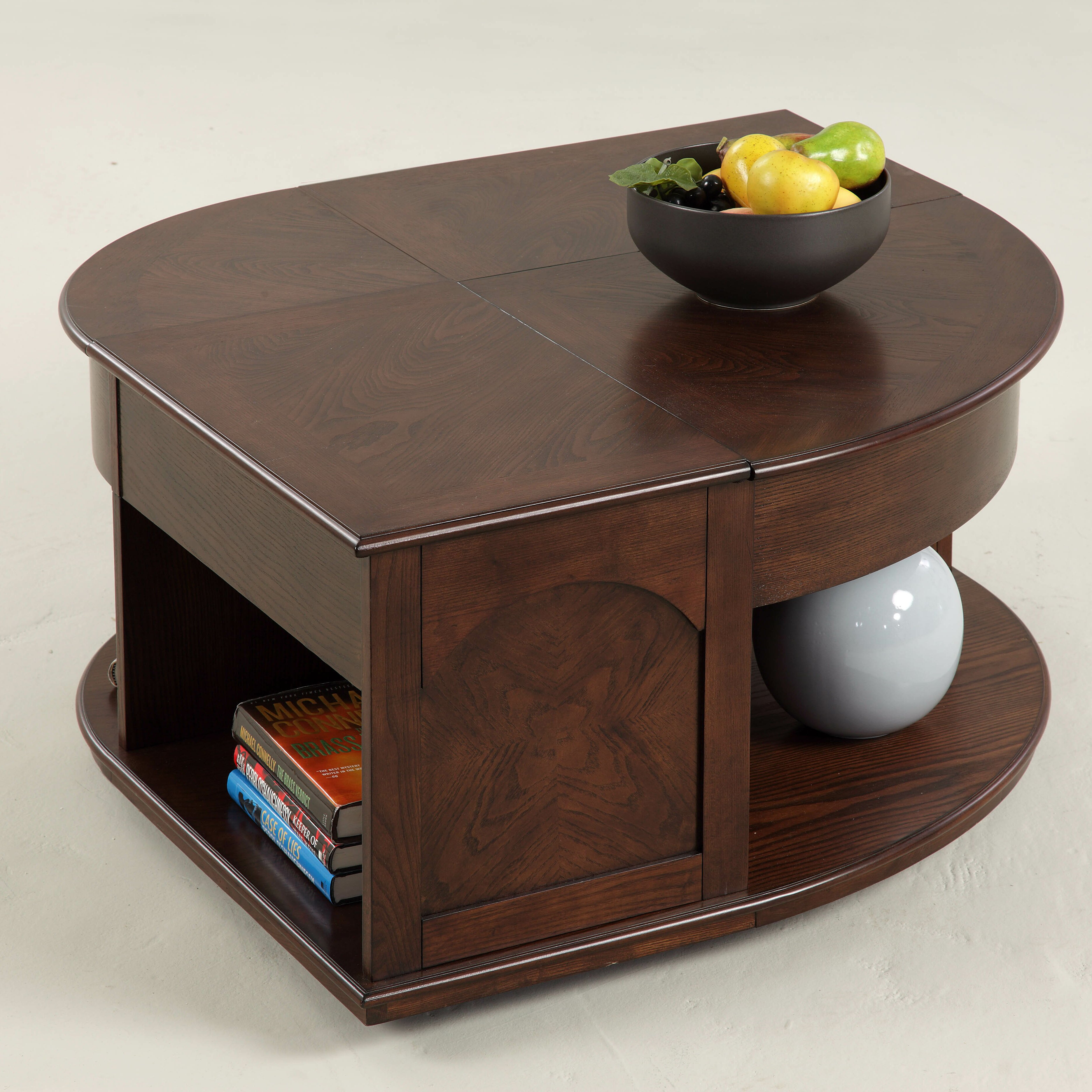 Industrial Style Lift Top Coffee Table: Darby Home Co Wilhoite Coffee Table With Double Lift Top