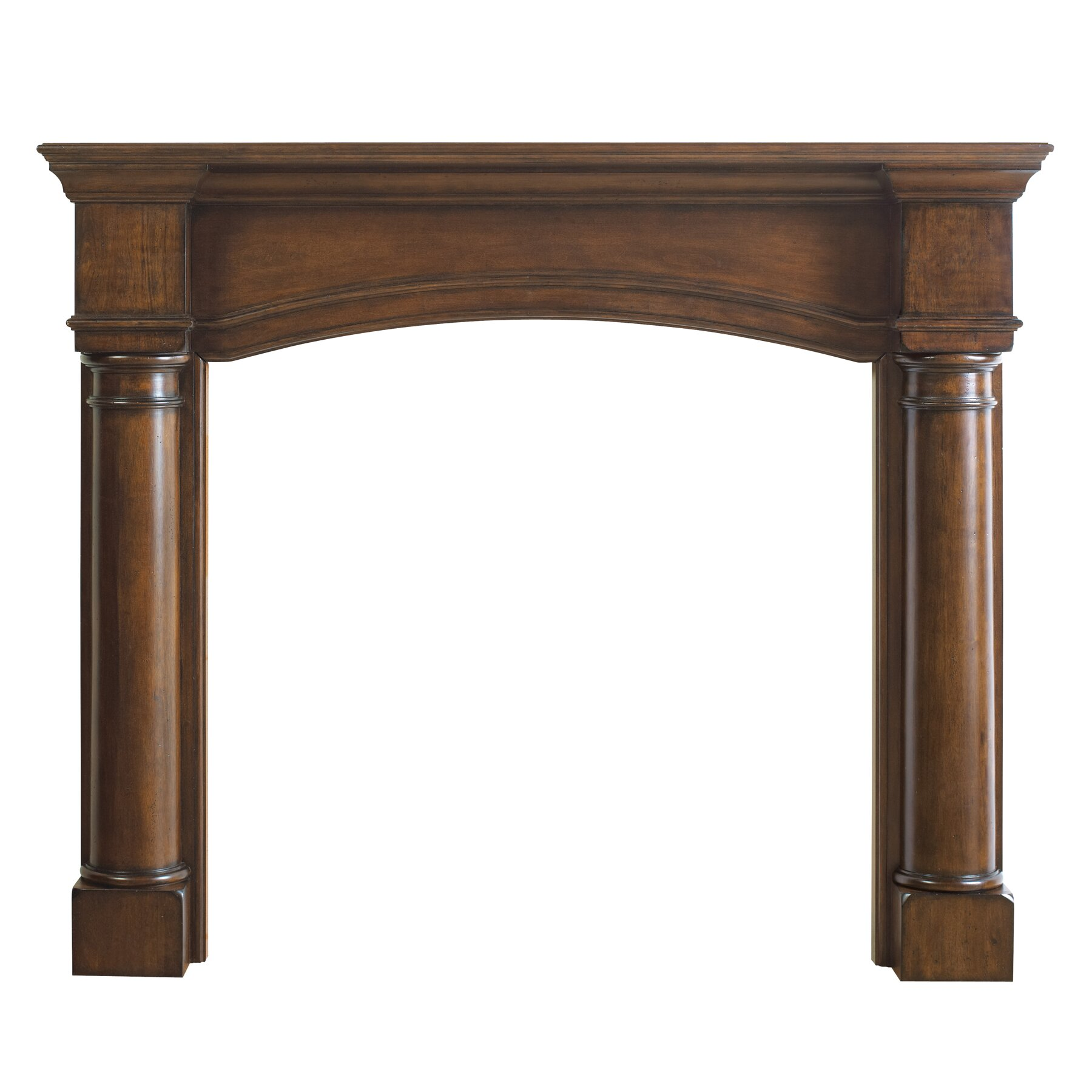 pearl mantels the princeton fireplace mantel surround