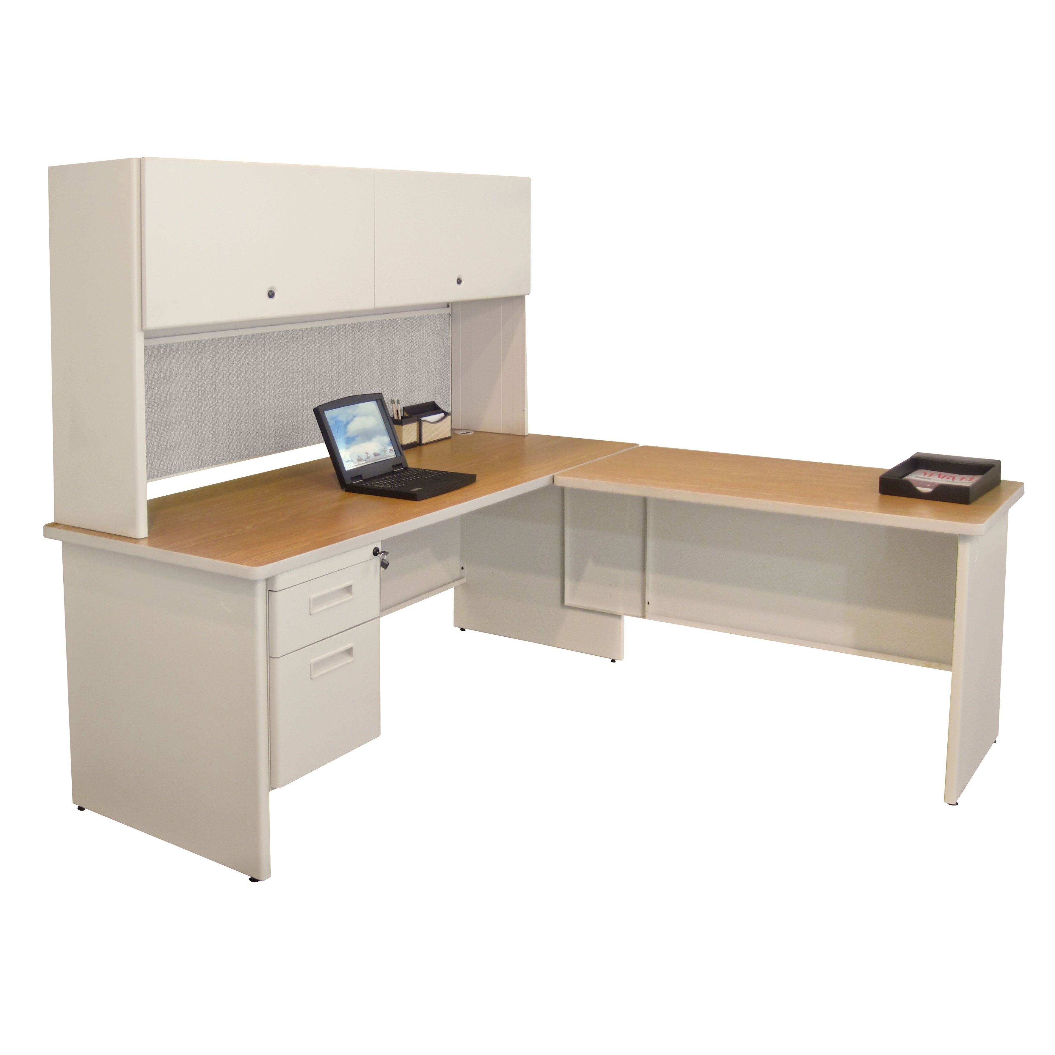 pronto executive desk with return wayfair
