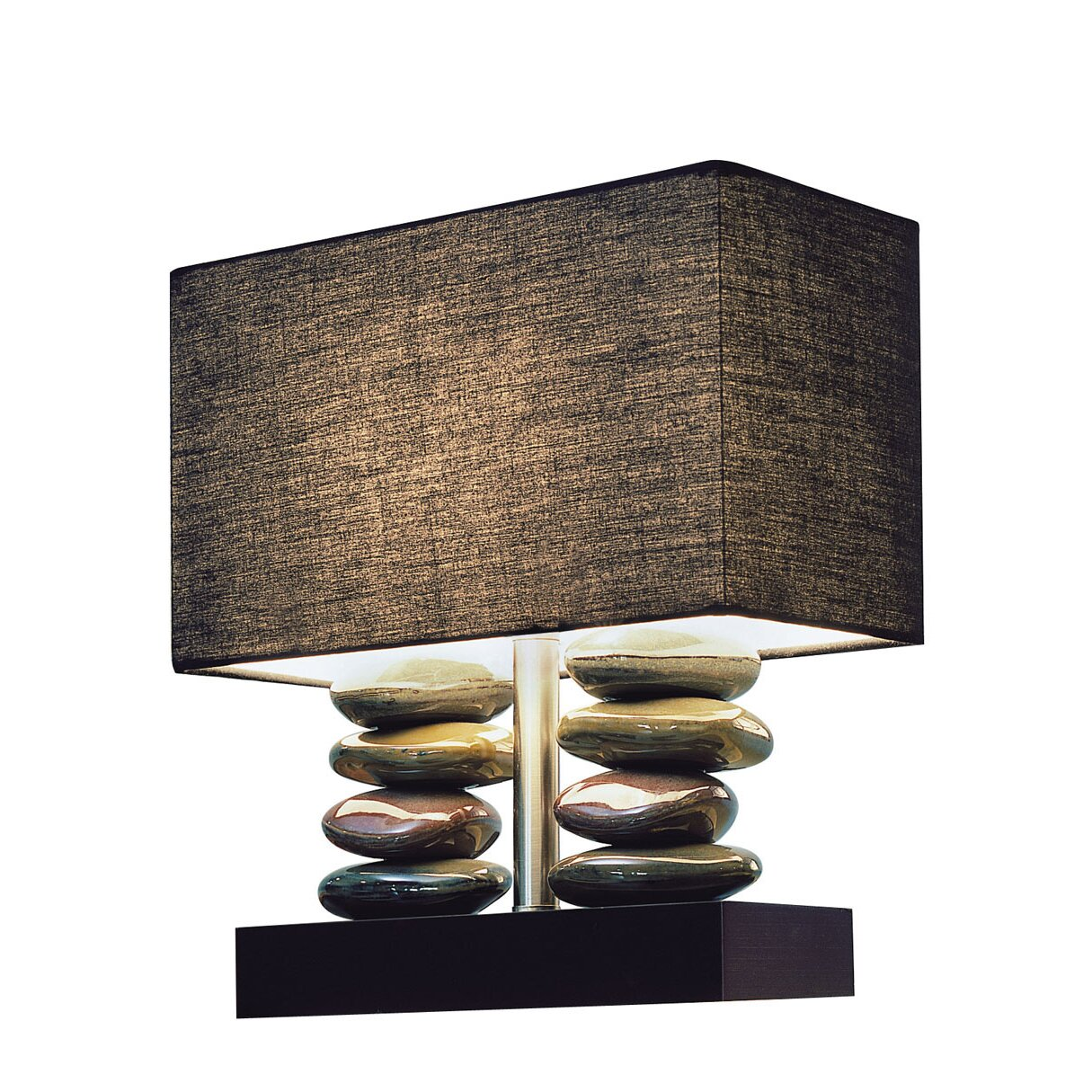 All The Rages Elegant Designs Dual Stacked Stone Ceramic