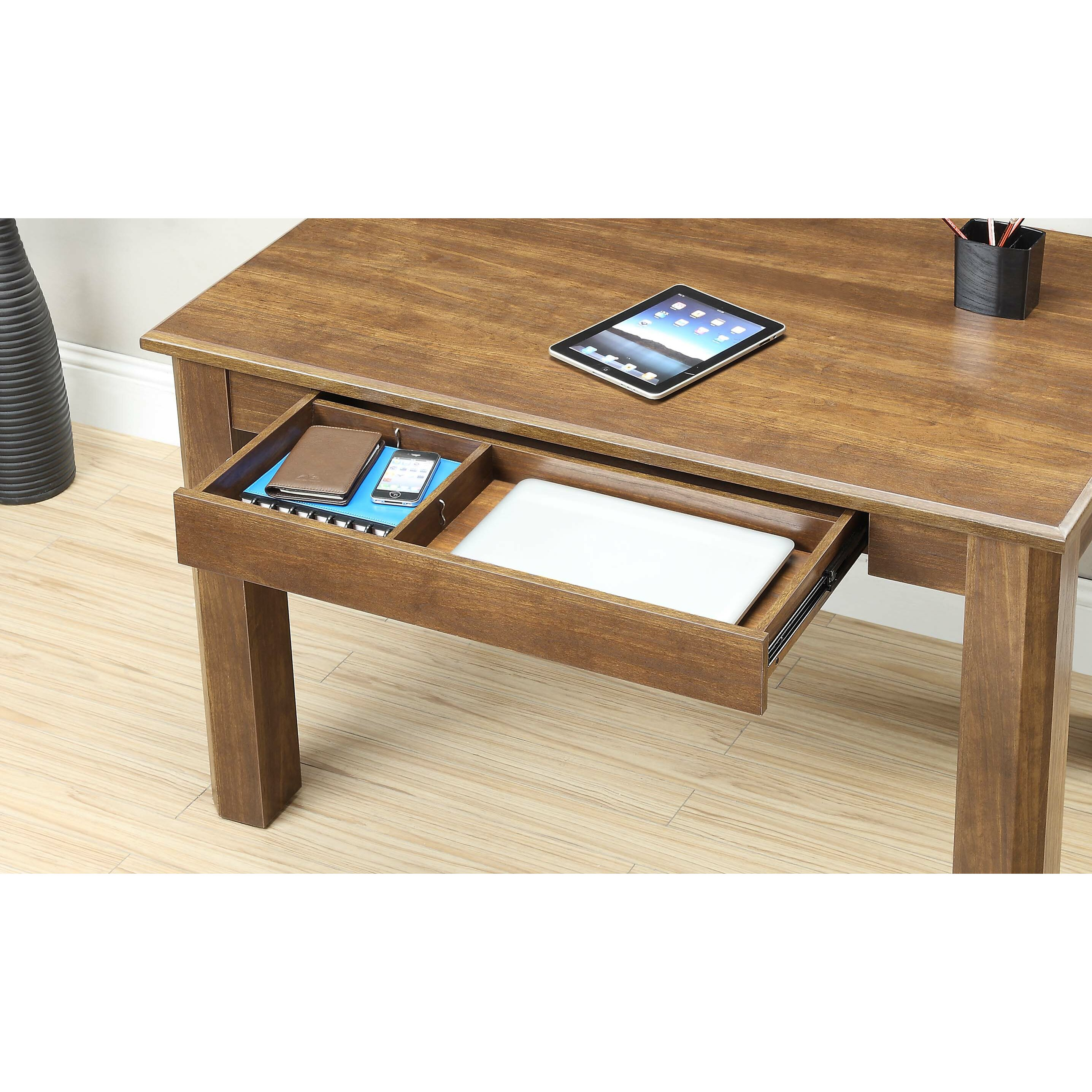 Whalen Furniture Renai Computer Desk & Reviews   Wayfair