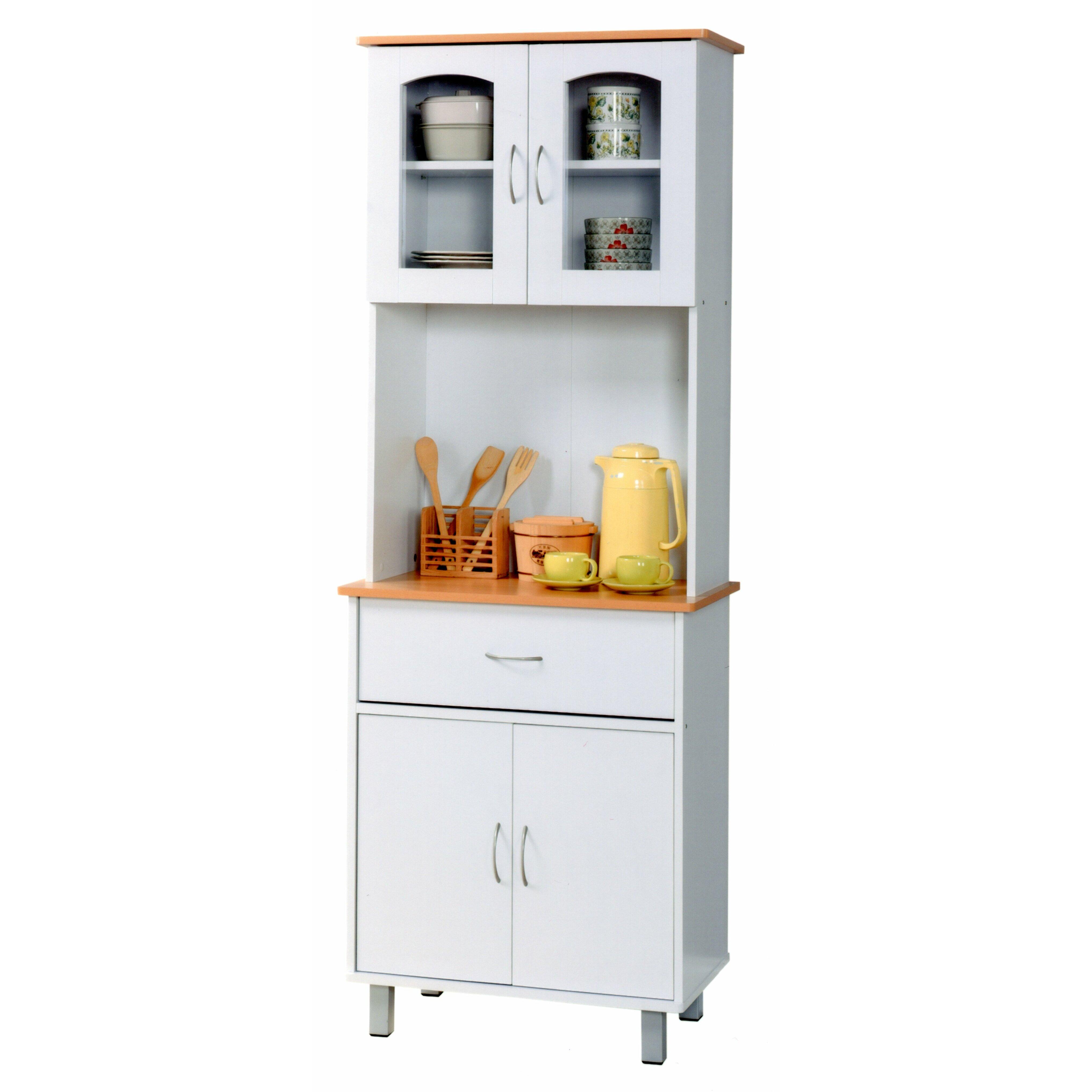 Hodedah china cabinet reviews wayfair for China kitchen cabinets